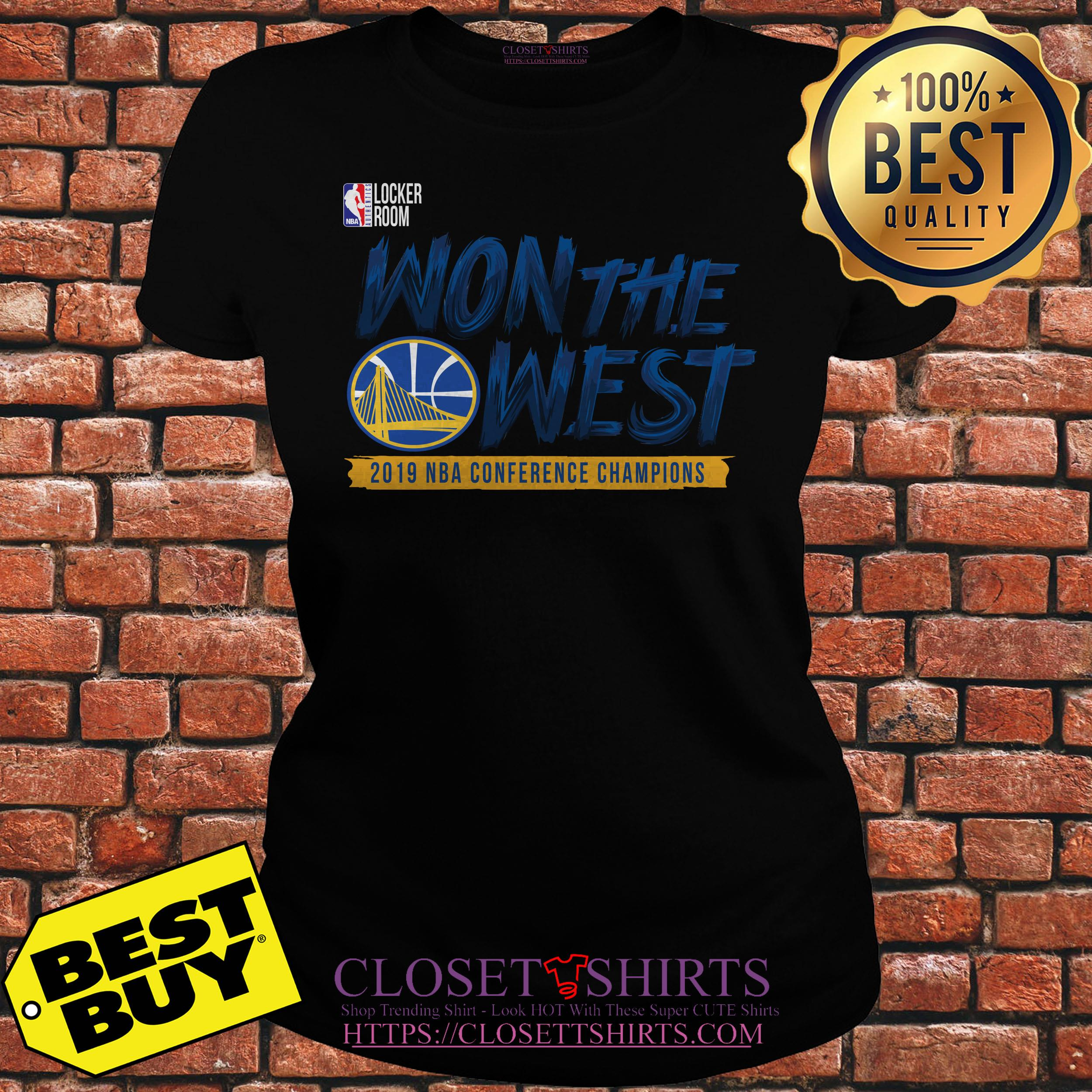 Meaning Behind Warriors The Town Jersey: Golden State Warriors 2019 NBA Won The Western Conference