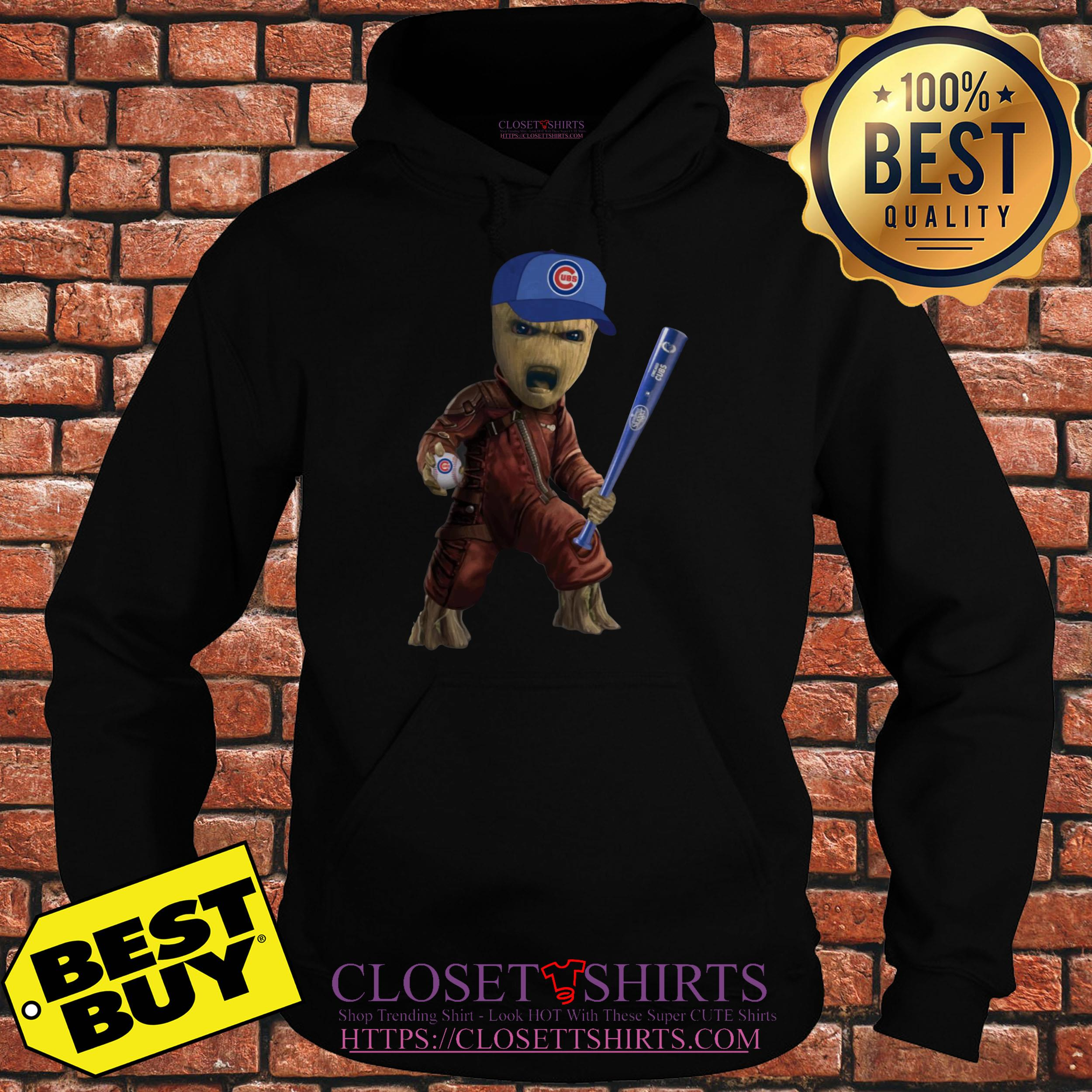 Groot I Am Chicago Cubs hoodie
