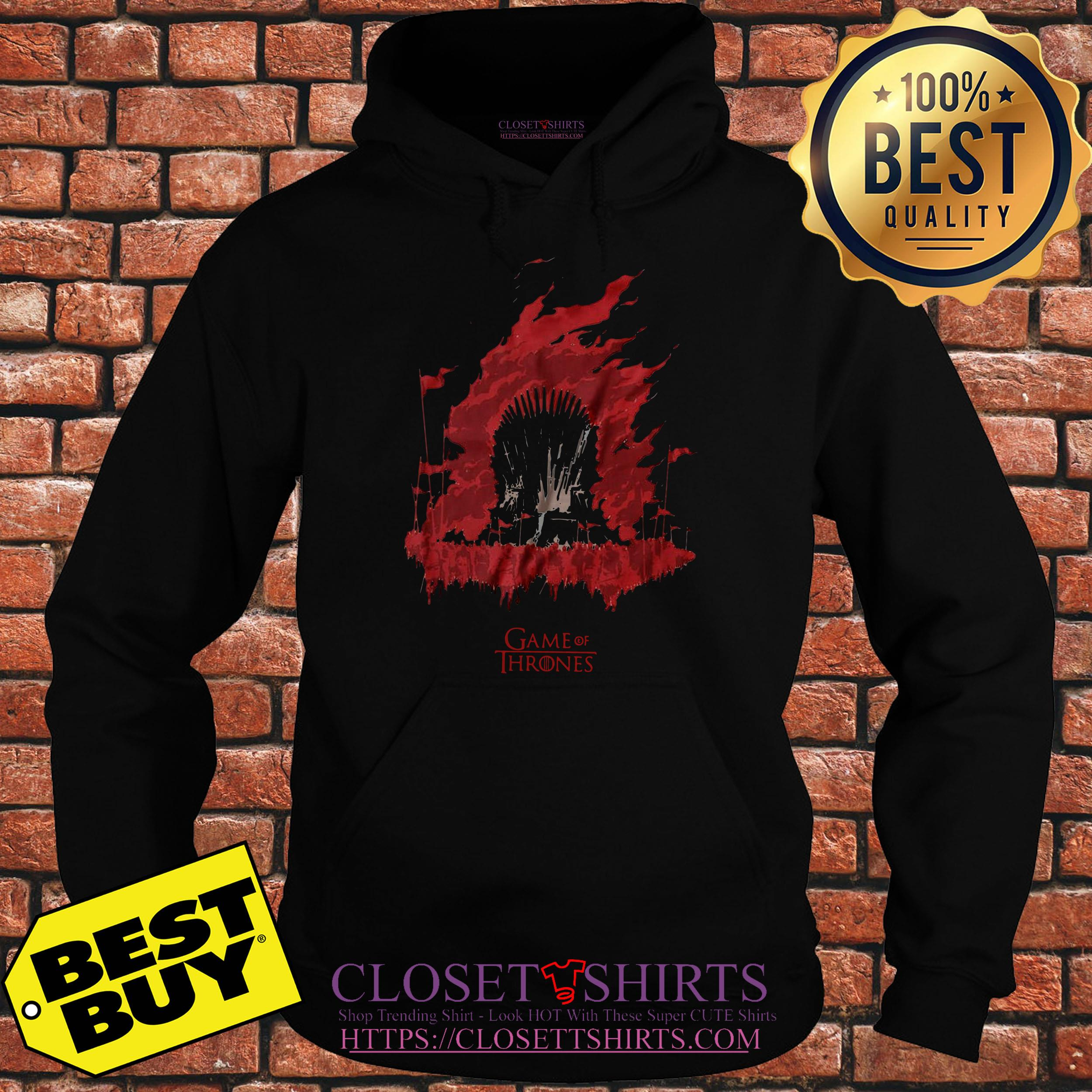 House Targaryen Game Of Thrones Fire And Blood hoodie