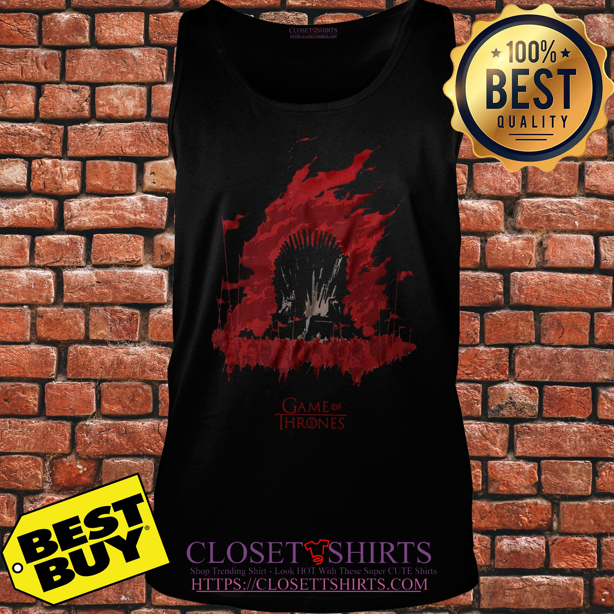 House Targaryen Game Of Thrones Fire And Blood tank top