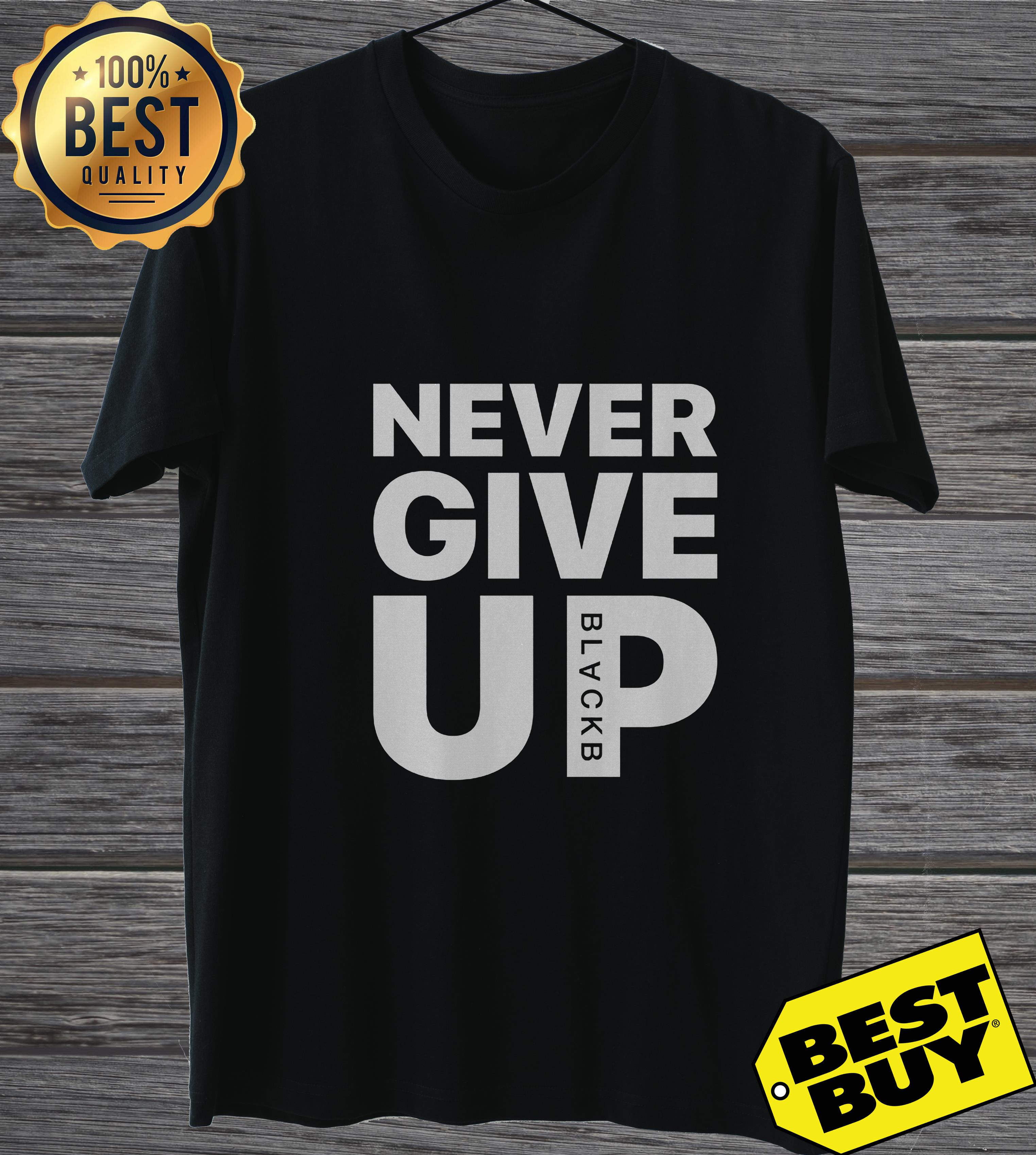 Mohamed Salah Never Give Up ladies tee