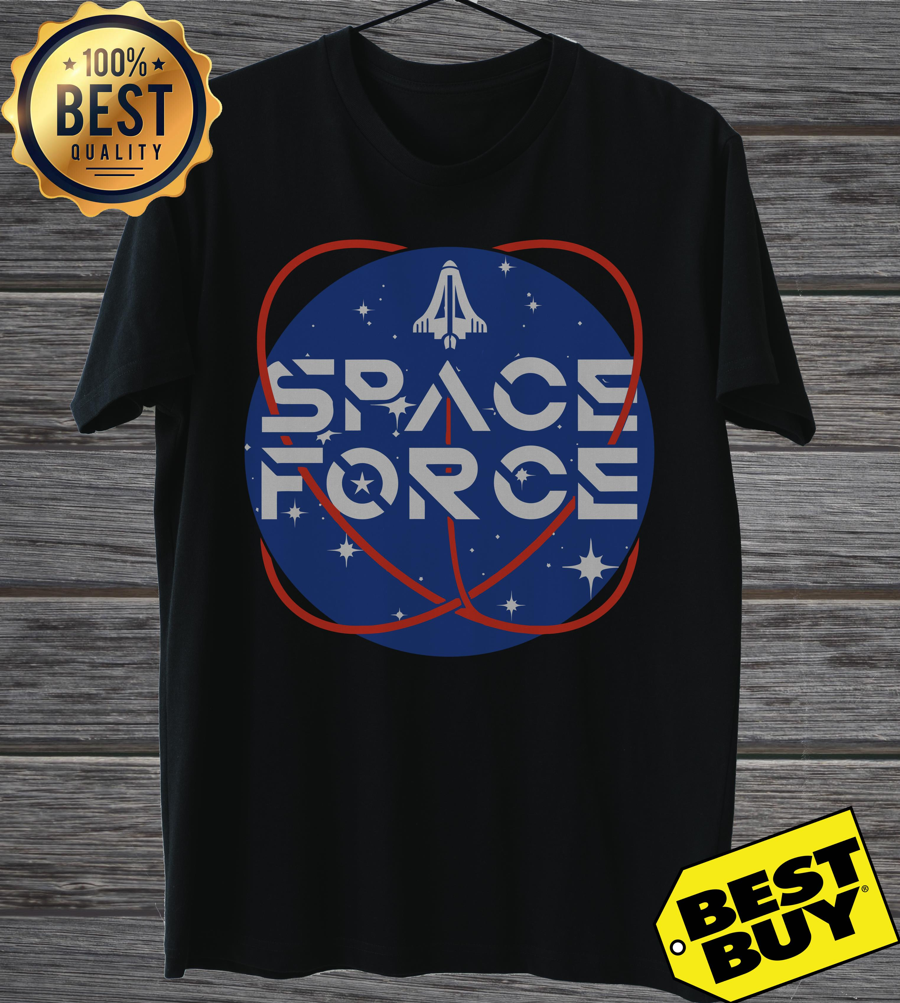 Official United States Space Force Pew Pew ladies tee