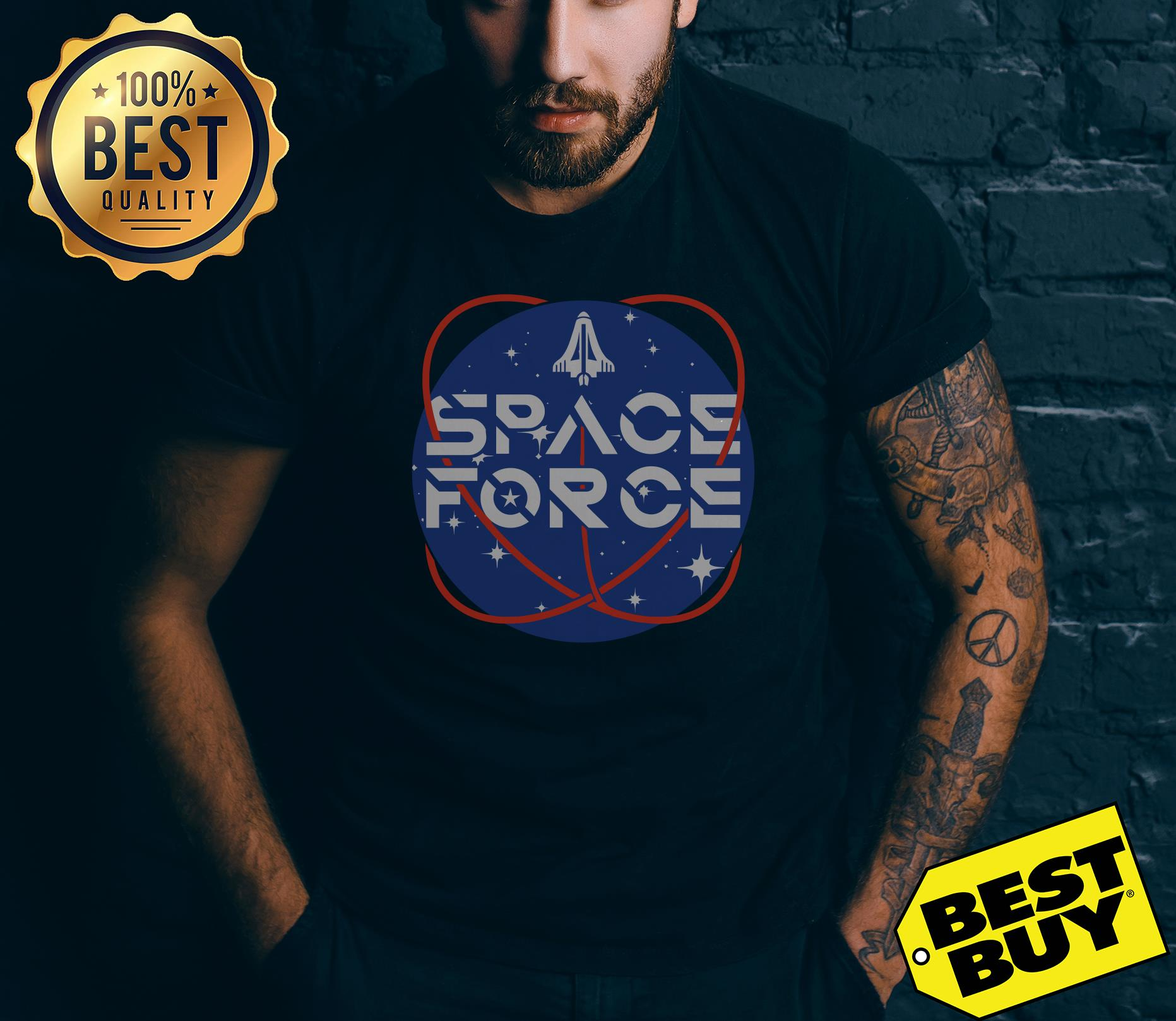 Official United States Space Force Pew Pew v-neck