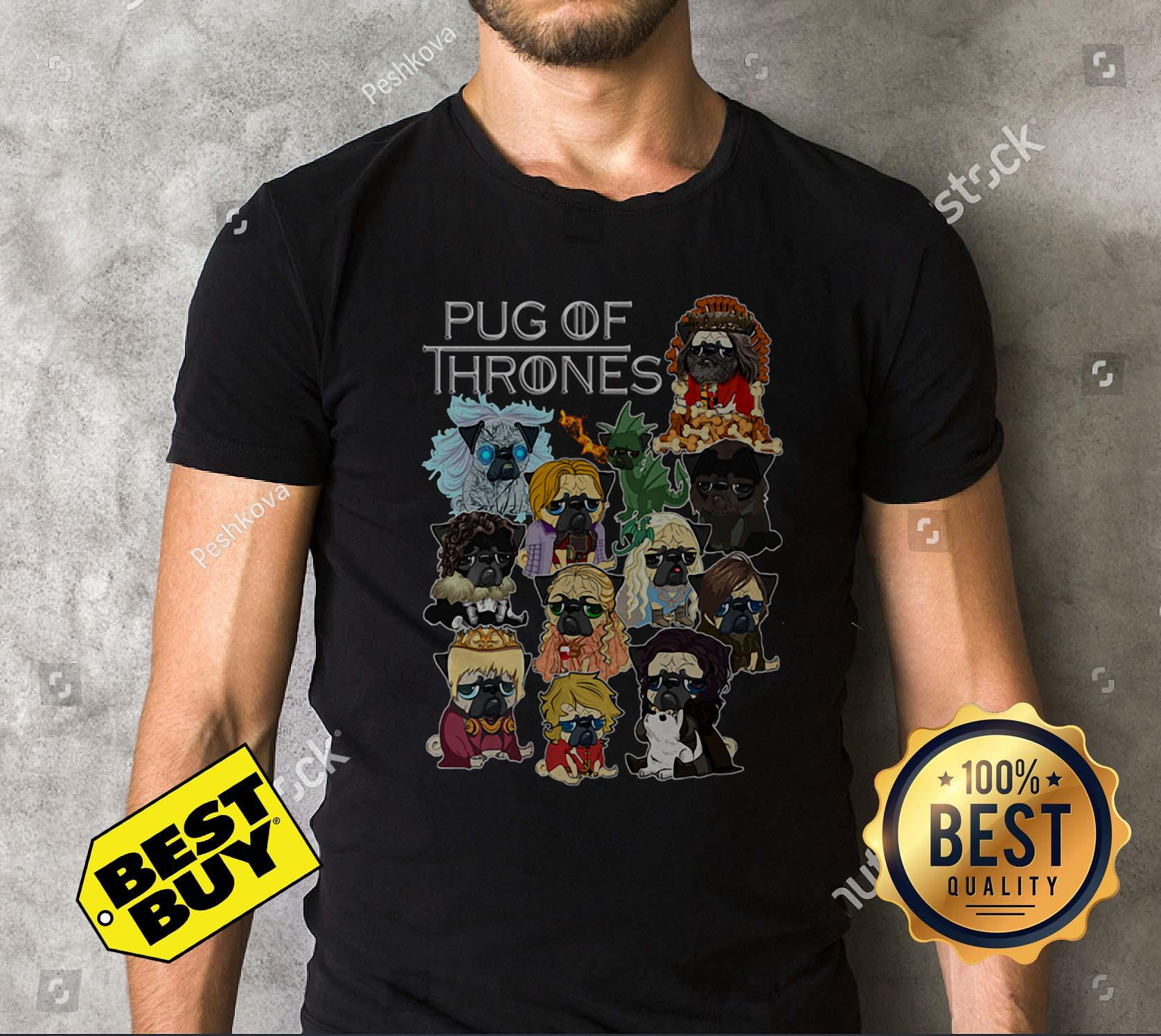Pug Of Thrones Game Of Thrones tank top
