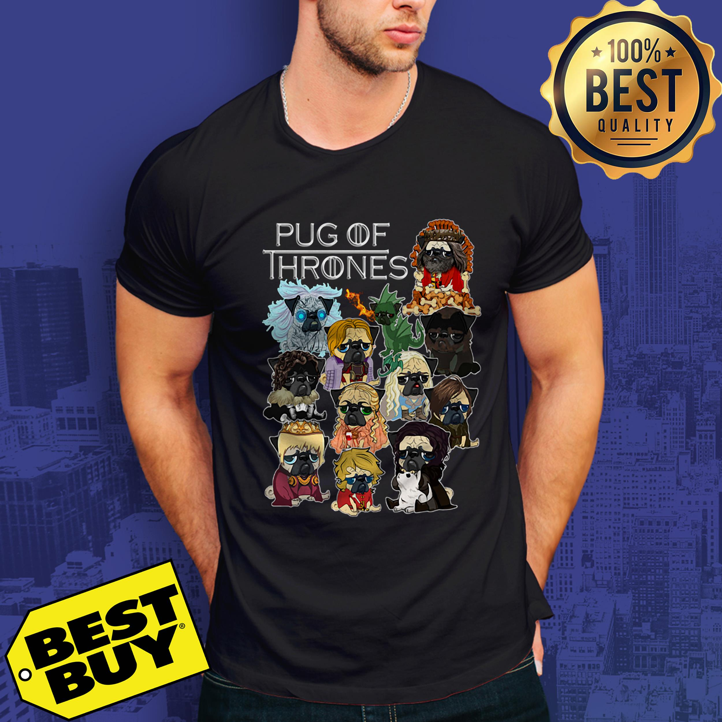Pug Of Thrones Game Of Thrones v-neck