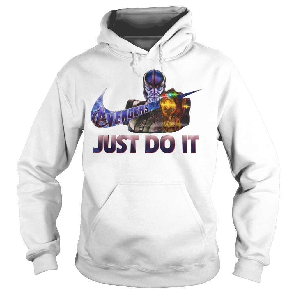 Thanos Avengers Endgame Nike Just Do It hoodie
