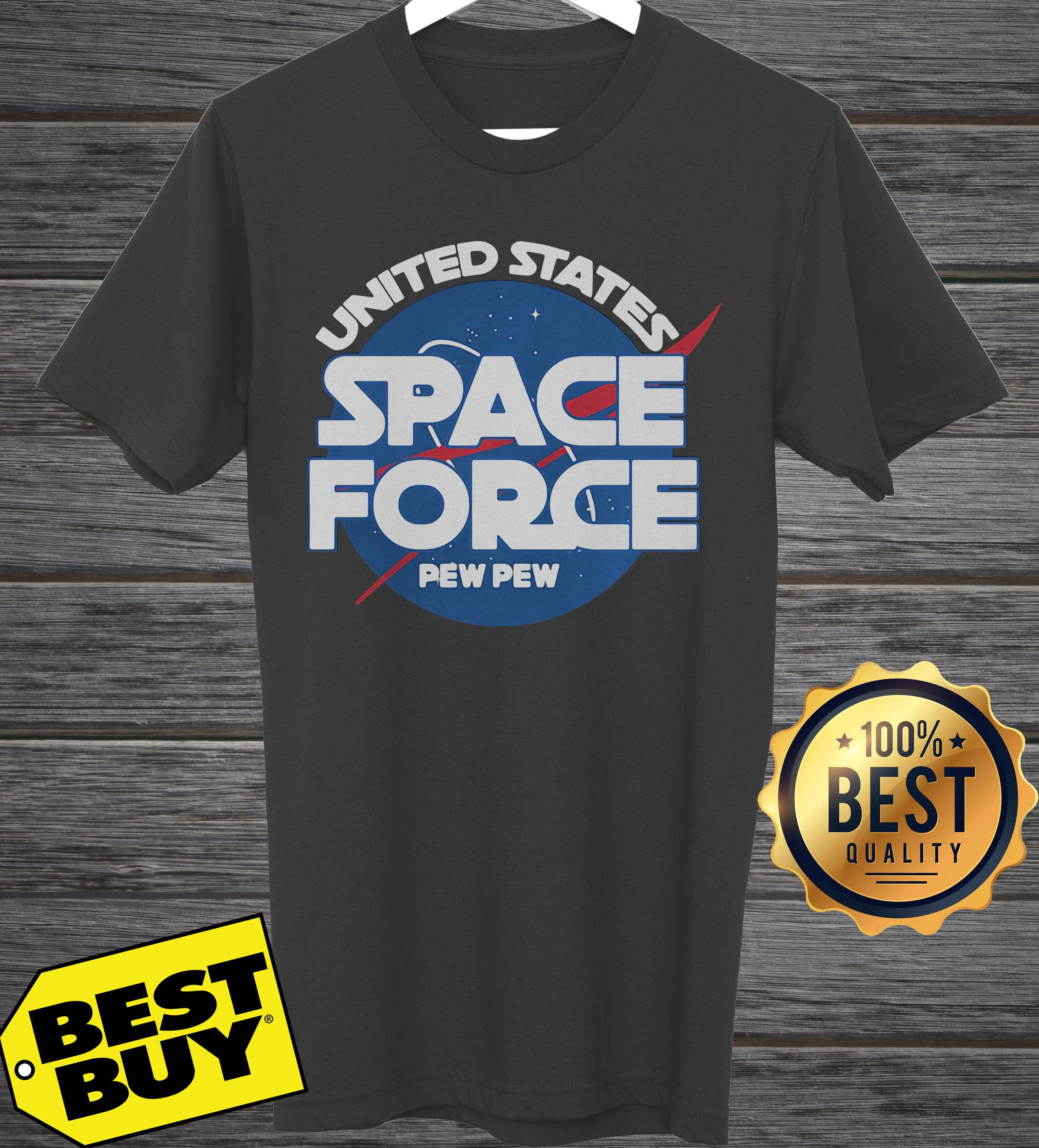 United States Space Force Pew Pew tank top