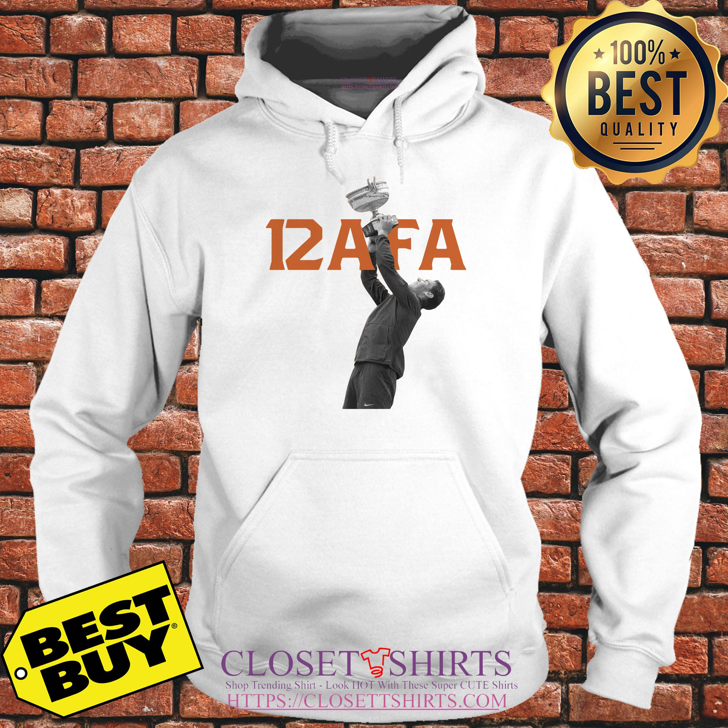 Afa12 Rafael Nadal Wins His 12th French Open Title hoodie