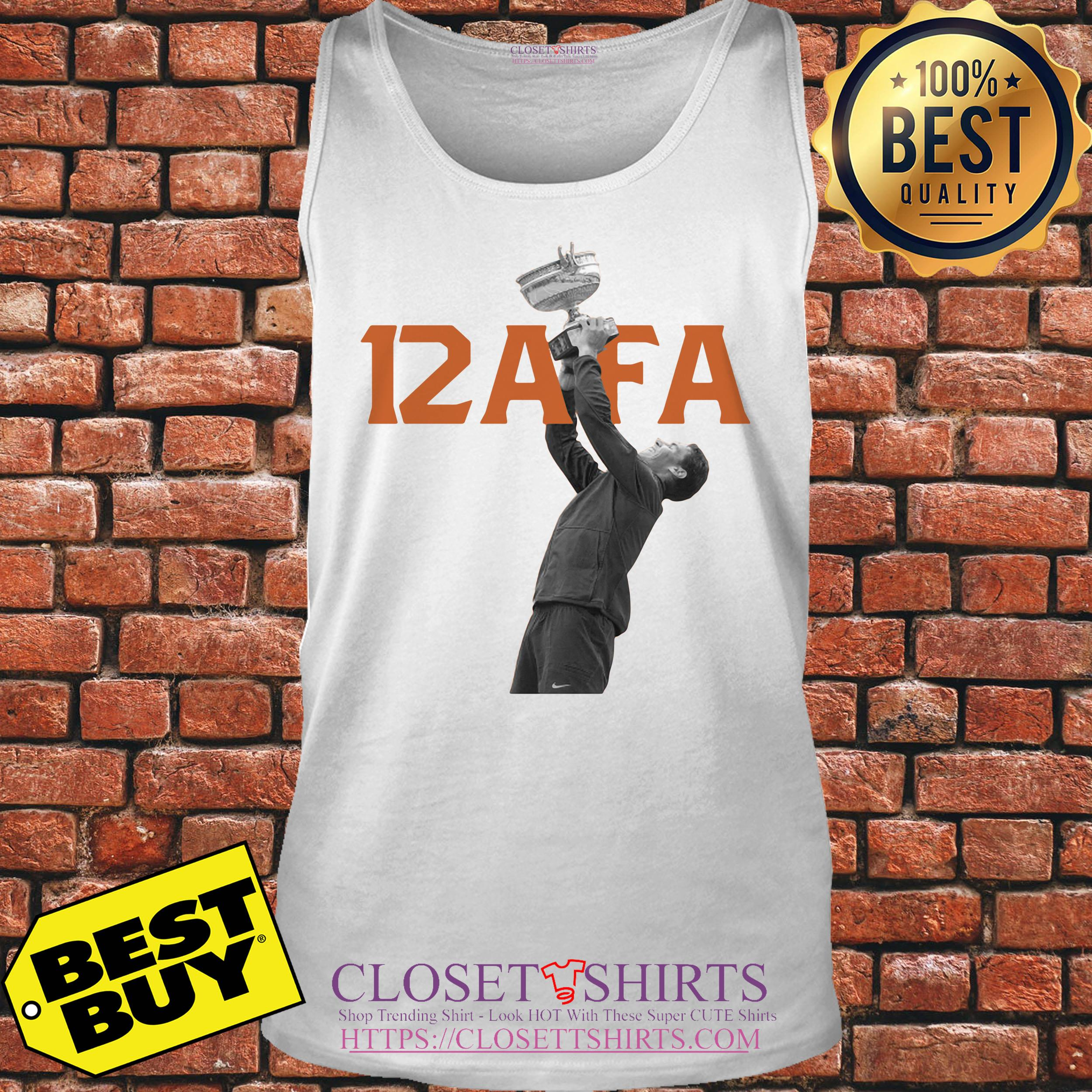 Afa12 Rafael Nadal Wins His 12th French Open Title tank top