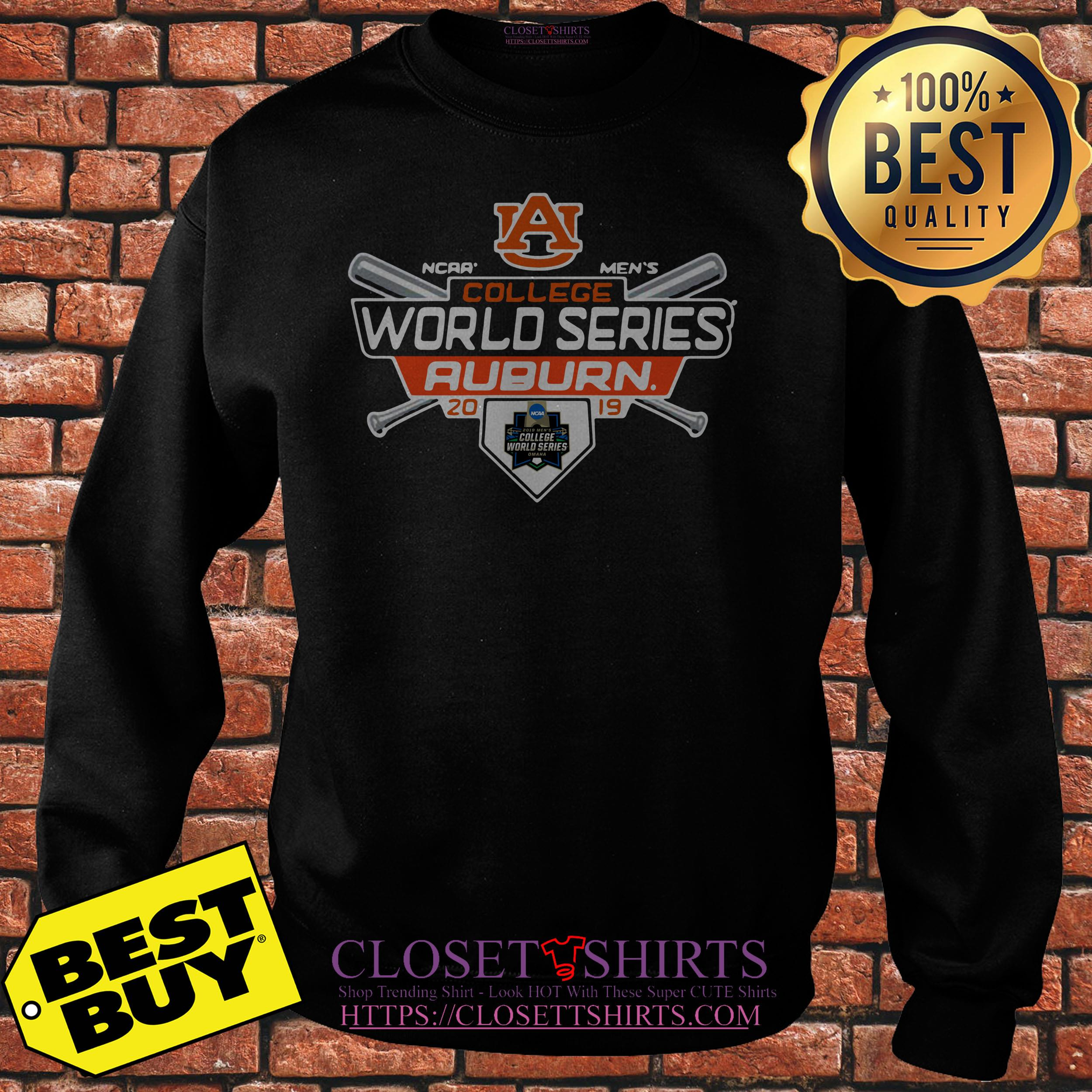Auburn Tigers Fanatics Branded 2019 Ncaa Baseball Men's College World Sweatshirt
