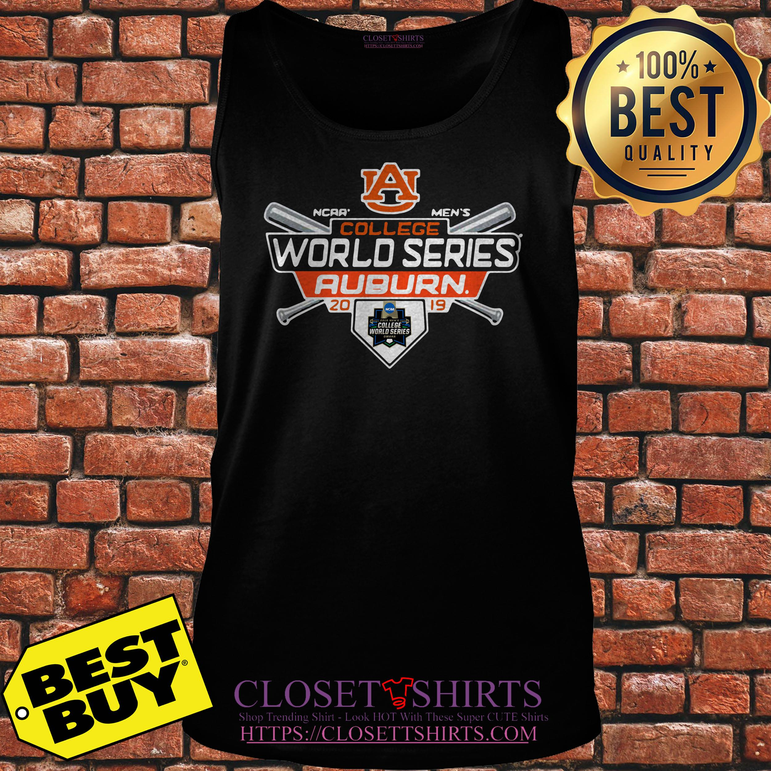 Auburn Tigers Fanatics Branded 2019 Ncaa Baseball Men's College World tank top