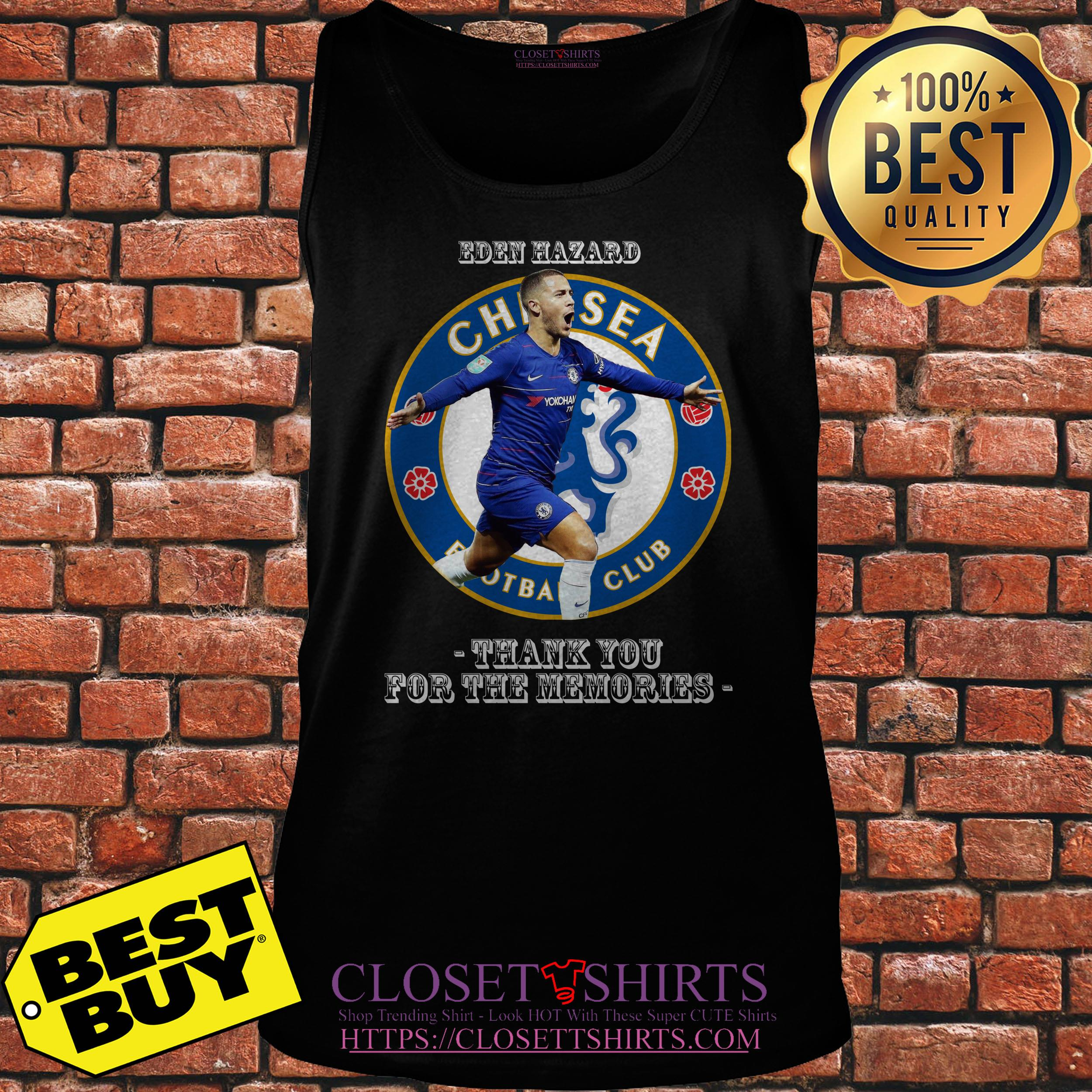 Barn Hazard Chelsea Football Club Thank You For The Memories tank top