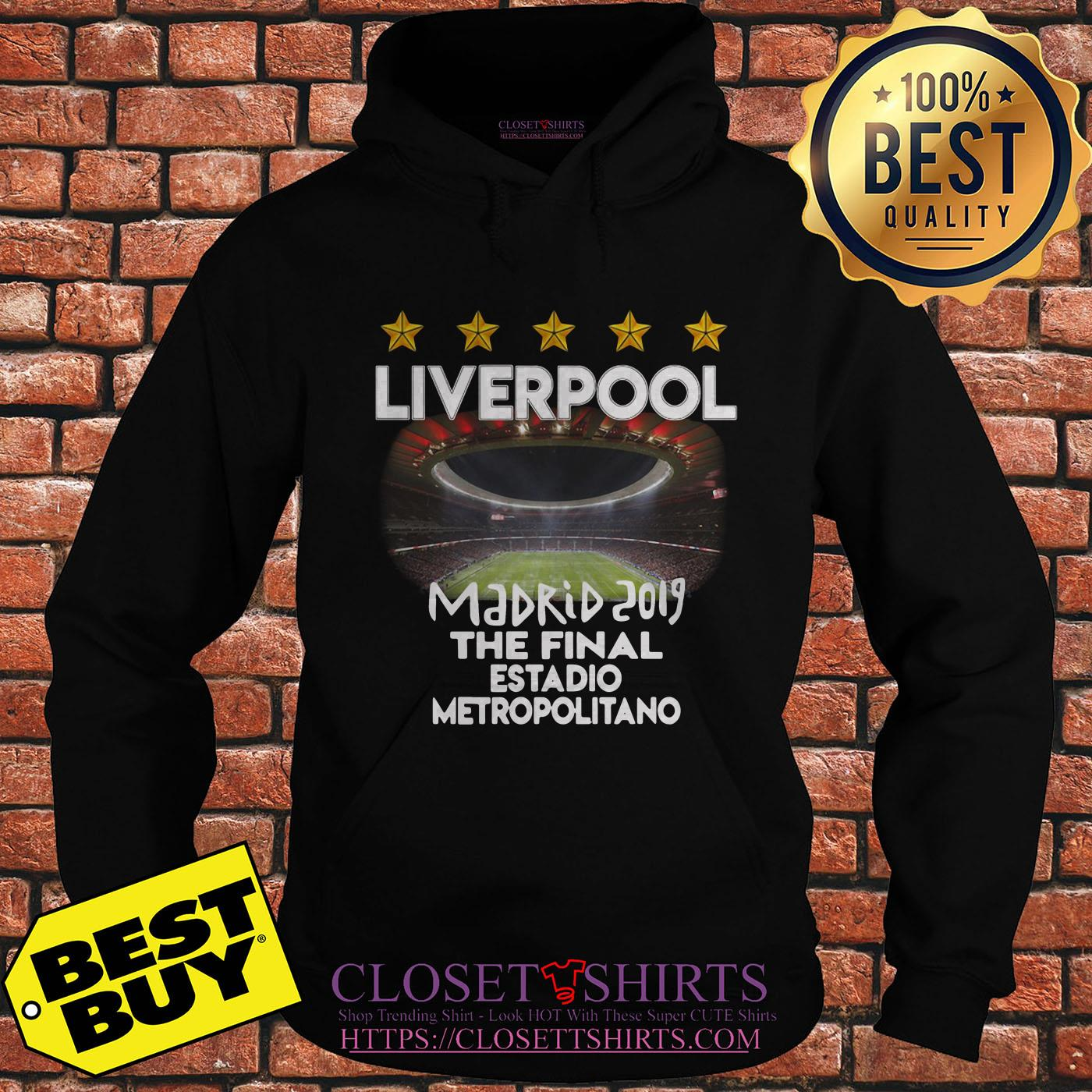 Champions League Madrid 2019 The Final Estadio Metropolitano hoodie
