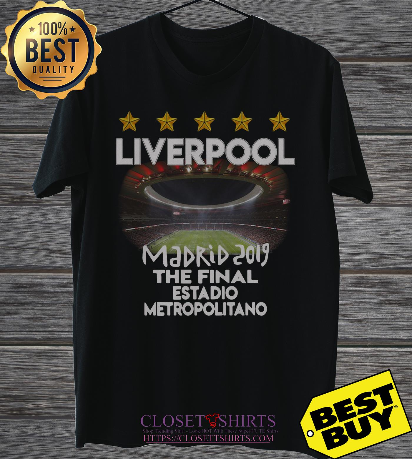 Champions League Madrid 2019 The Final Estadio Metropolitano v-neck
