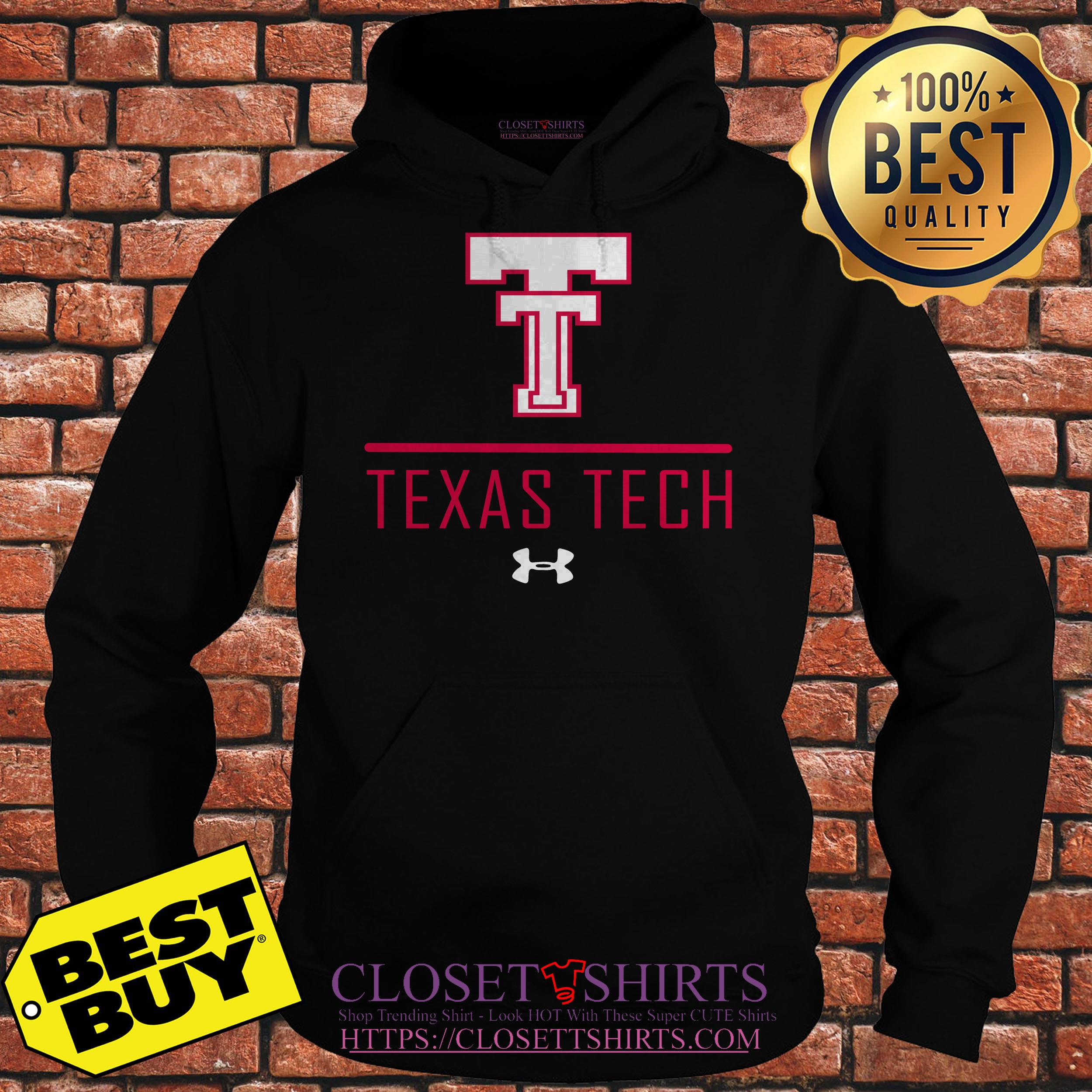 Colosseum Texas Tech Red Raiders Black Jackson hoodie