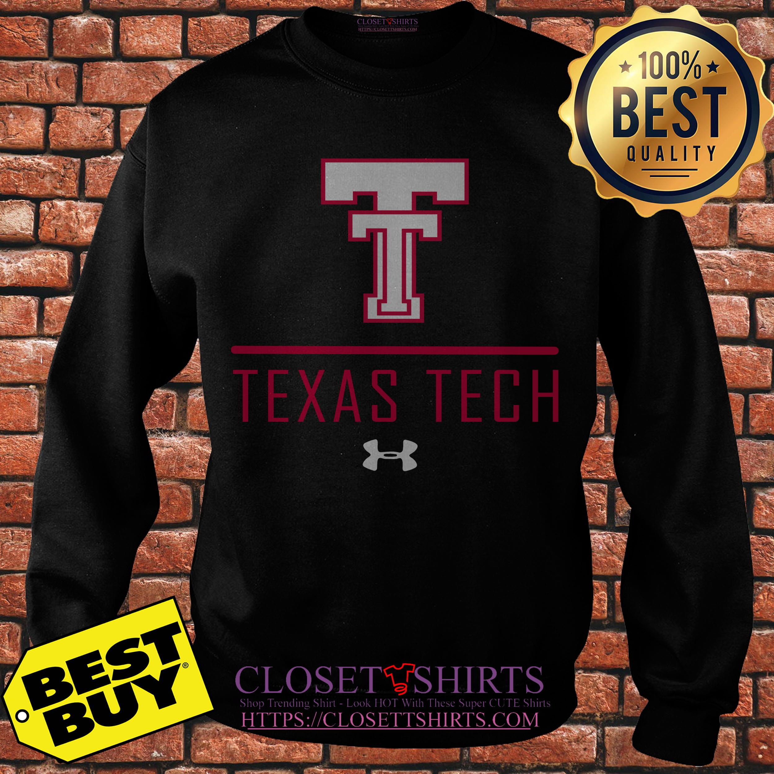 Colosseum Texas Tech Red Raiders Black Jackson Sweatshirt