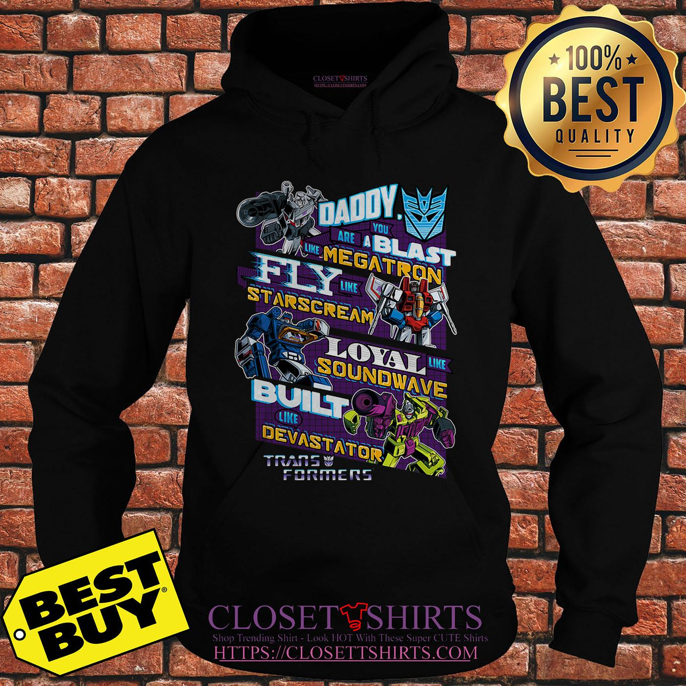 Decepticons Father's Day Transformers hoodie