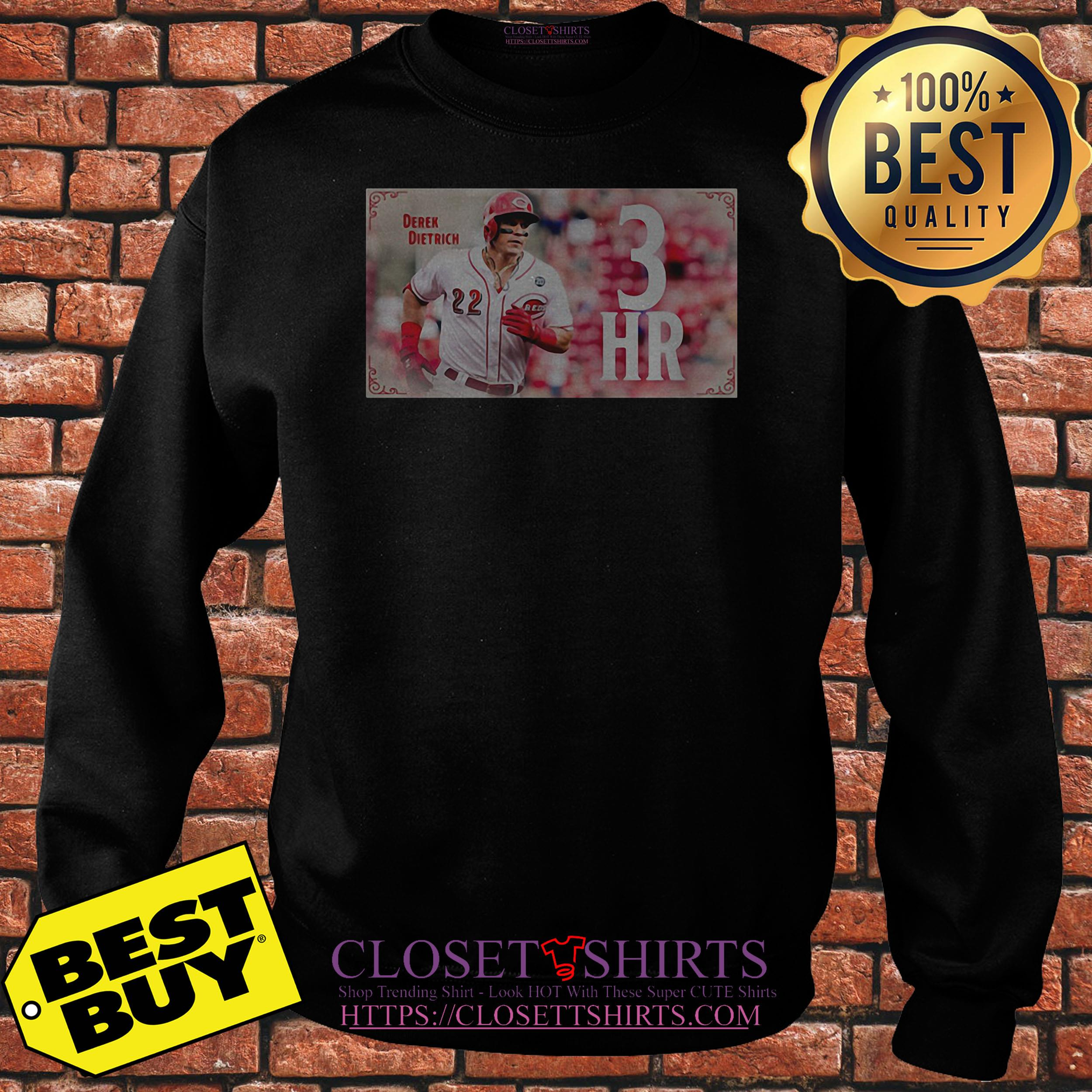 Derek Dietrich 3hr Game Sweatshirt