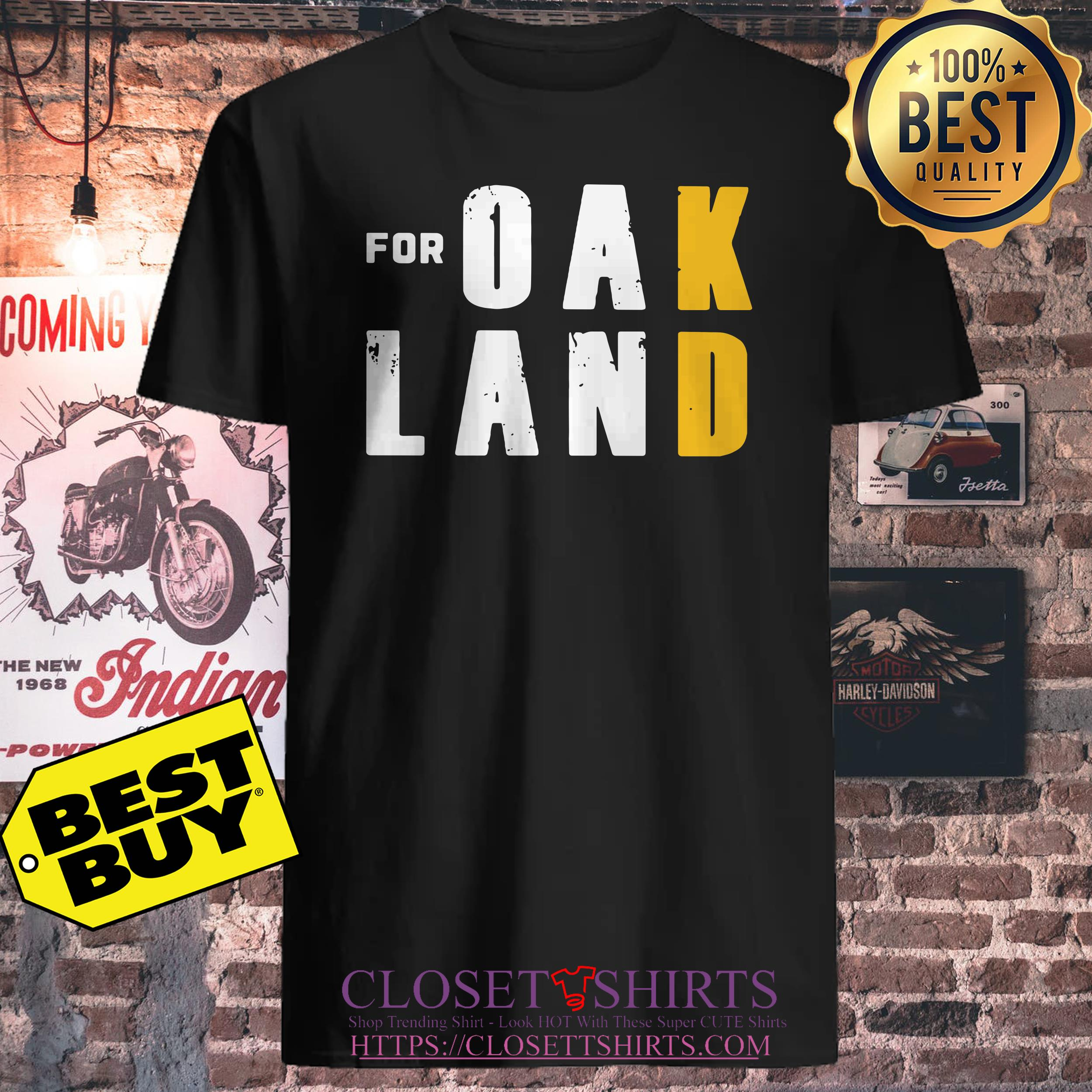 For Oakland For Doran California ladies tee