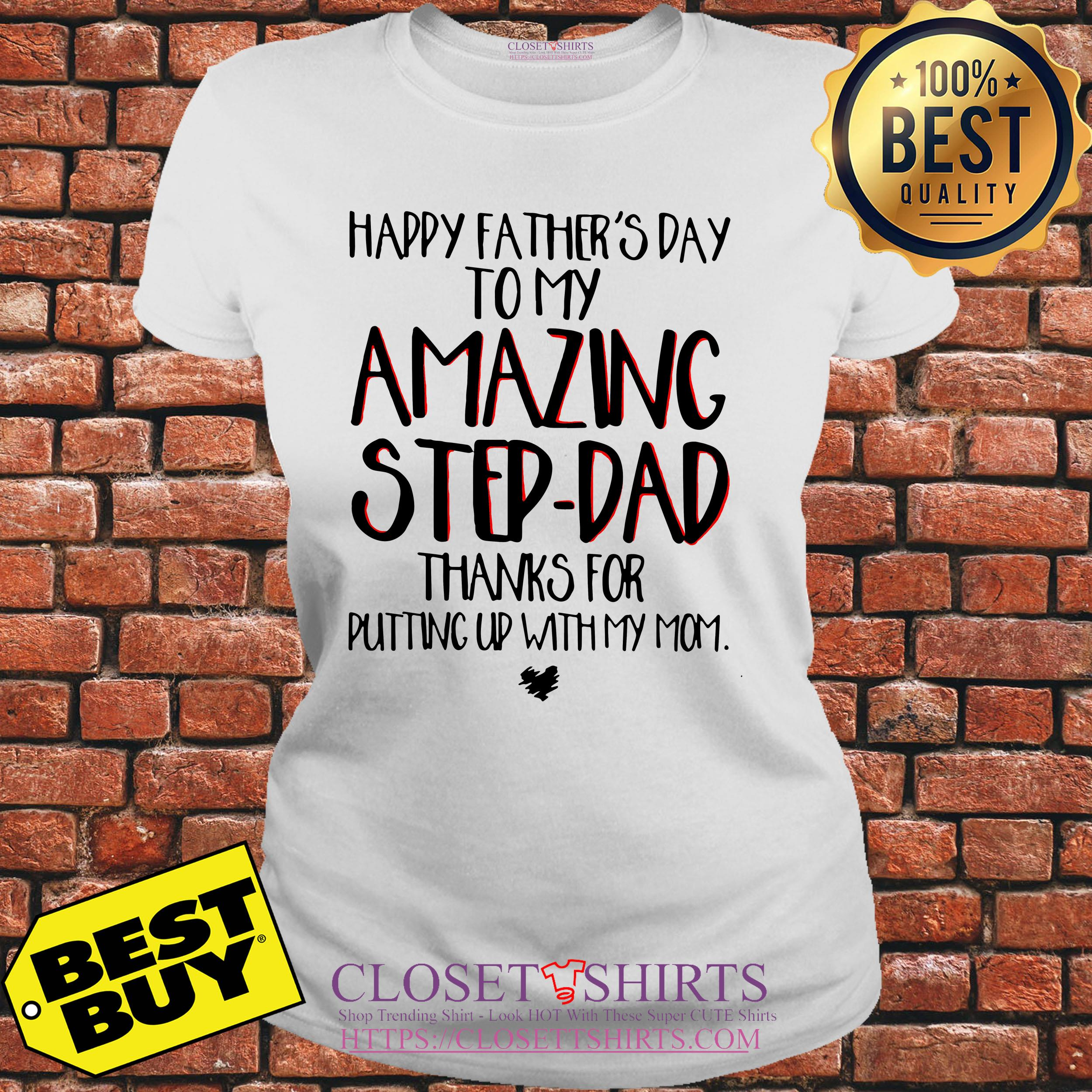 Tank Top Fathers Day Super Cool Stepdad