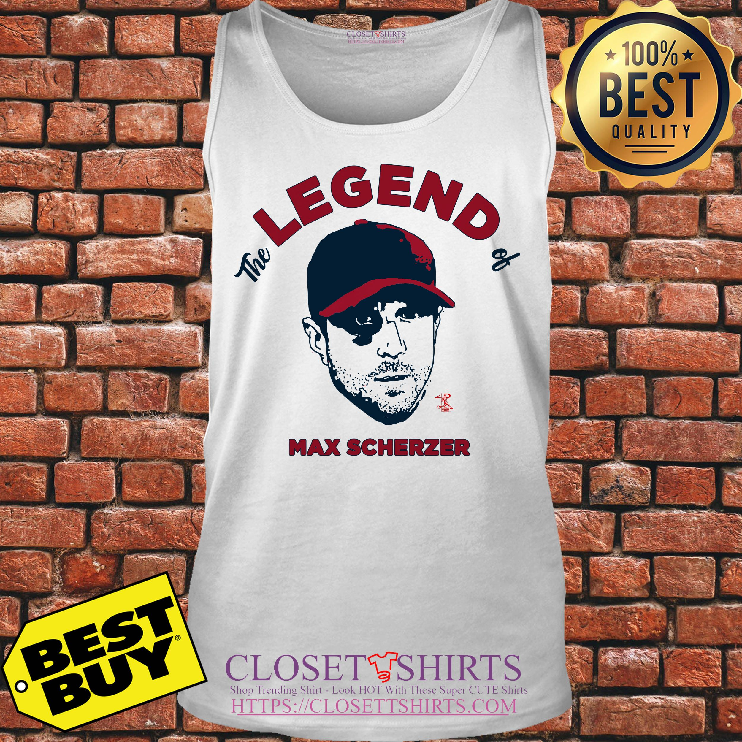 quality design 9d6c7 5ebff The legend of Max Scherzer grows Major League Baseball ...