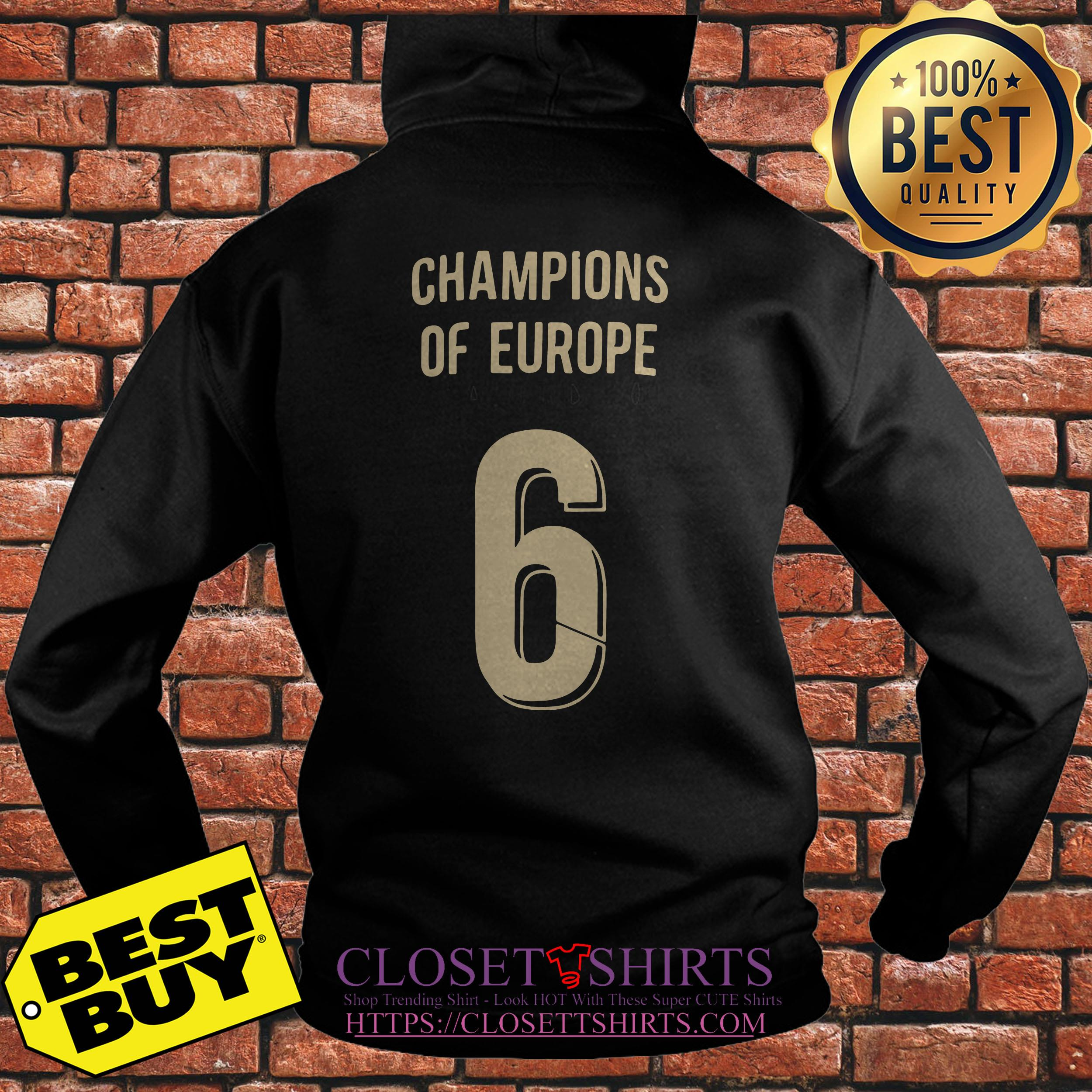 Liverpool Trophy Champions Of Europe 6 hoodie