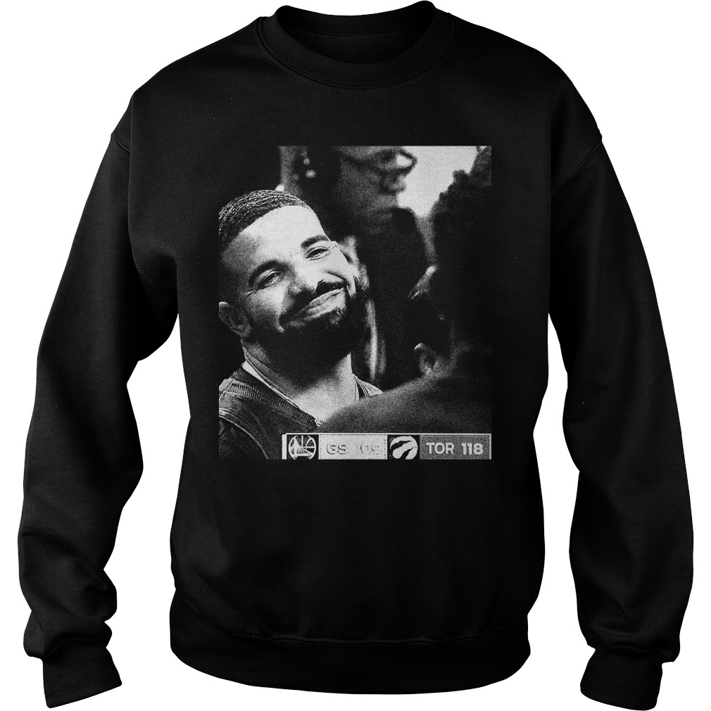 Nba Finals Drake Draymond Green Gs 109 Tor 118 Sweatshirt