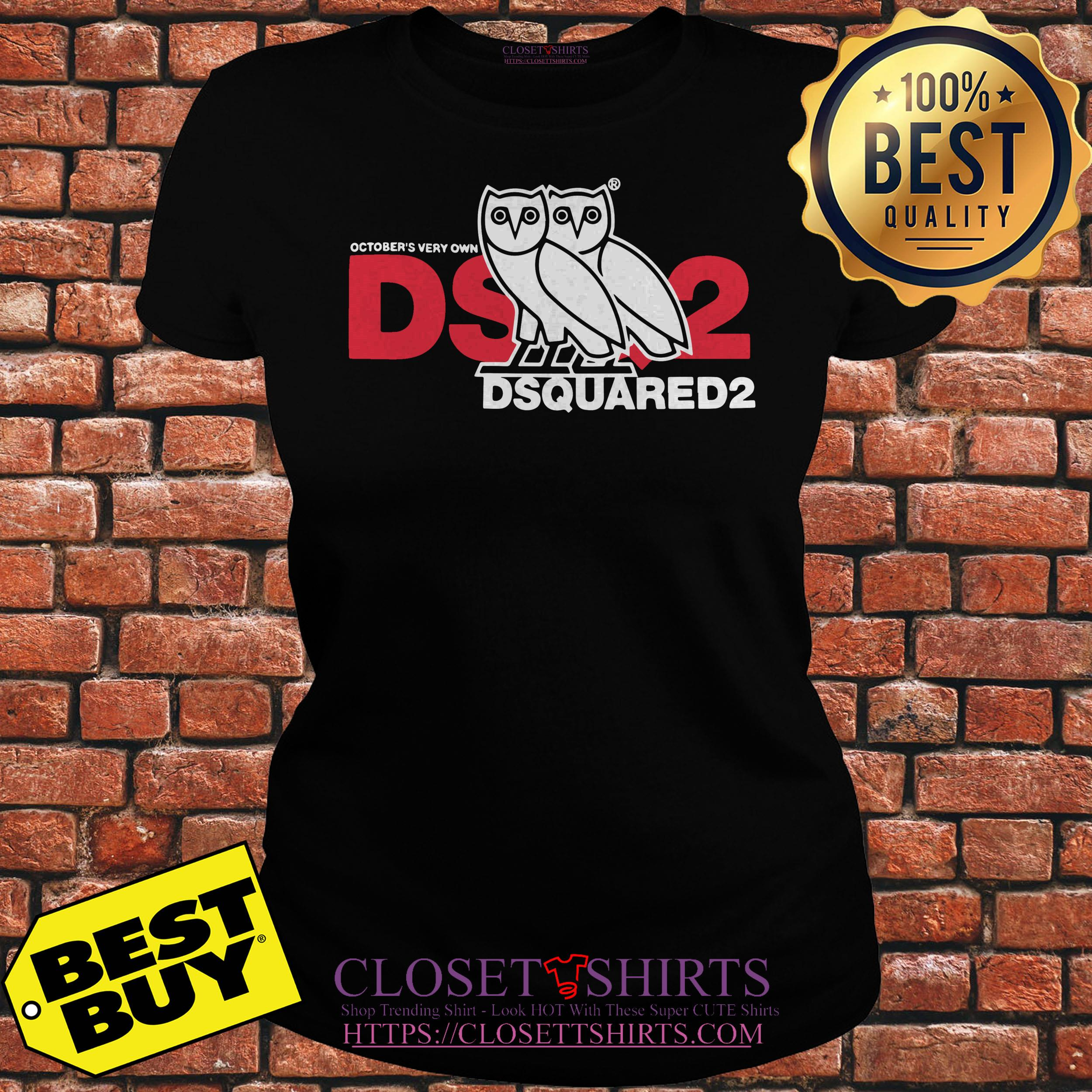 October's Ovo Very Own Dsquared2 ladies tee