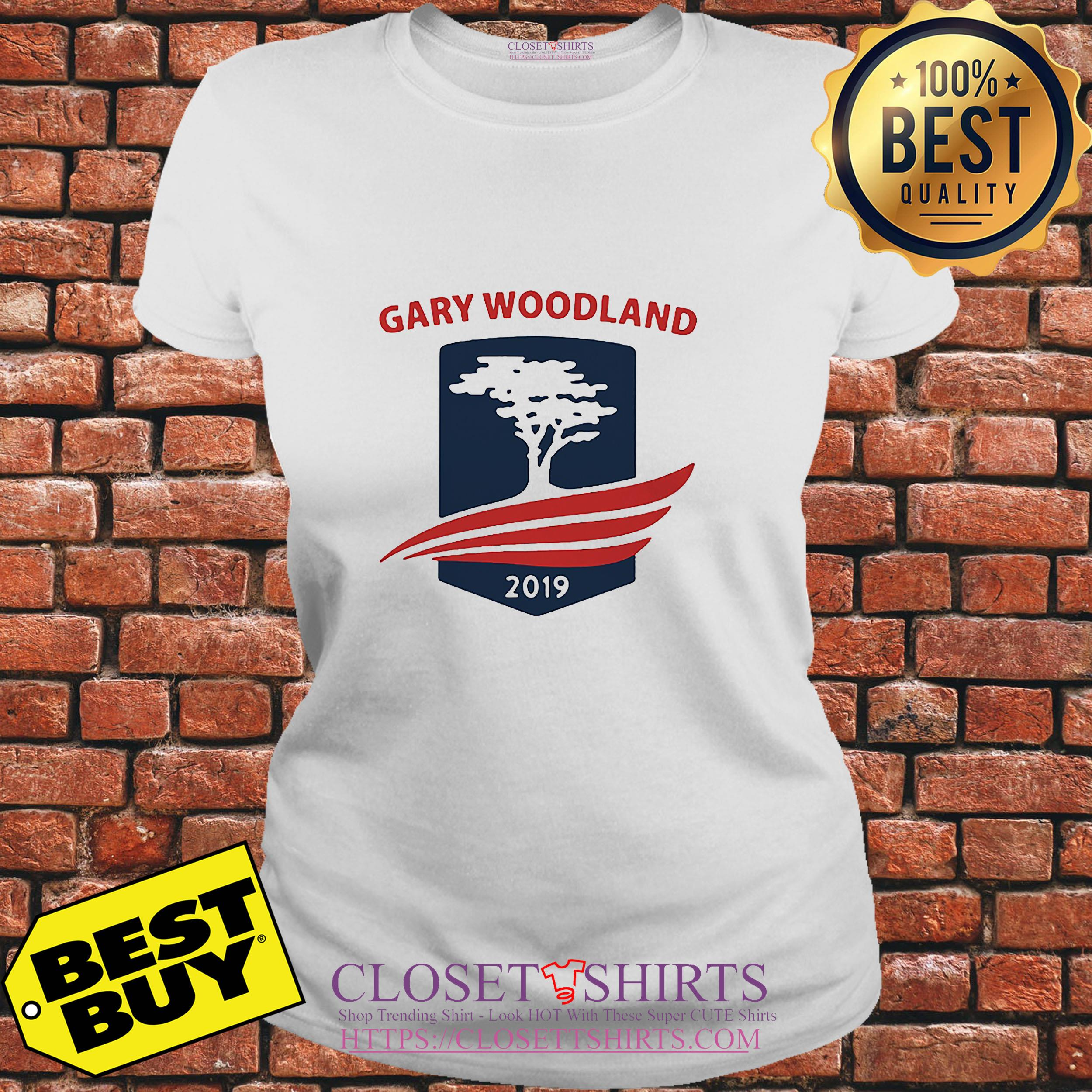 Official Gary Woodland 2019 ladies tee