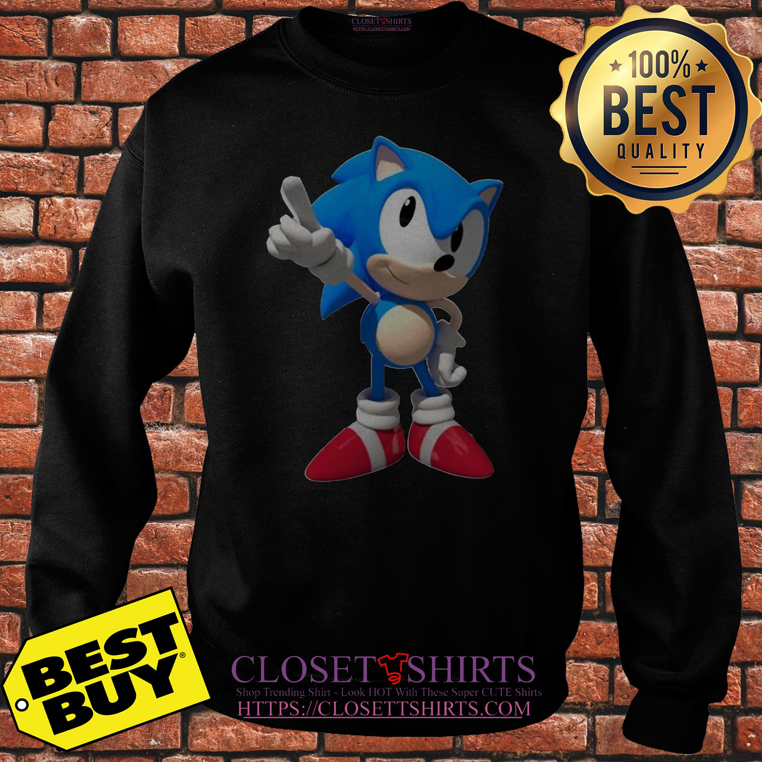 Sega Sonic Hedgehog Sweatshirt