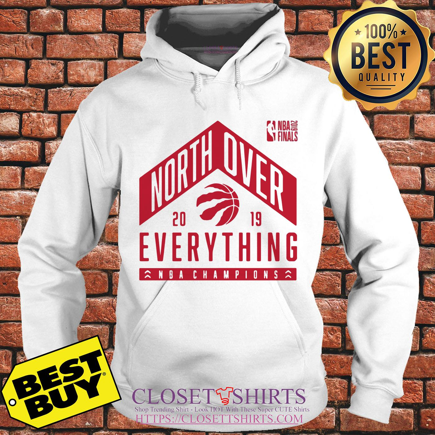 Tech Hometown Toronto Raptors North Over 2019 Nba Finals Champions hoodie