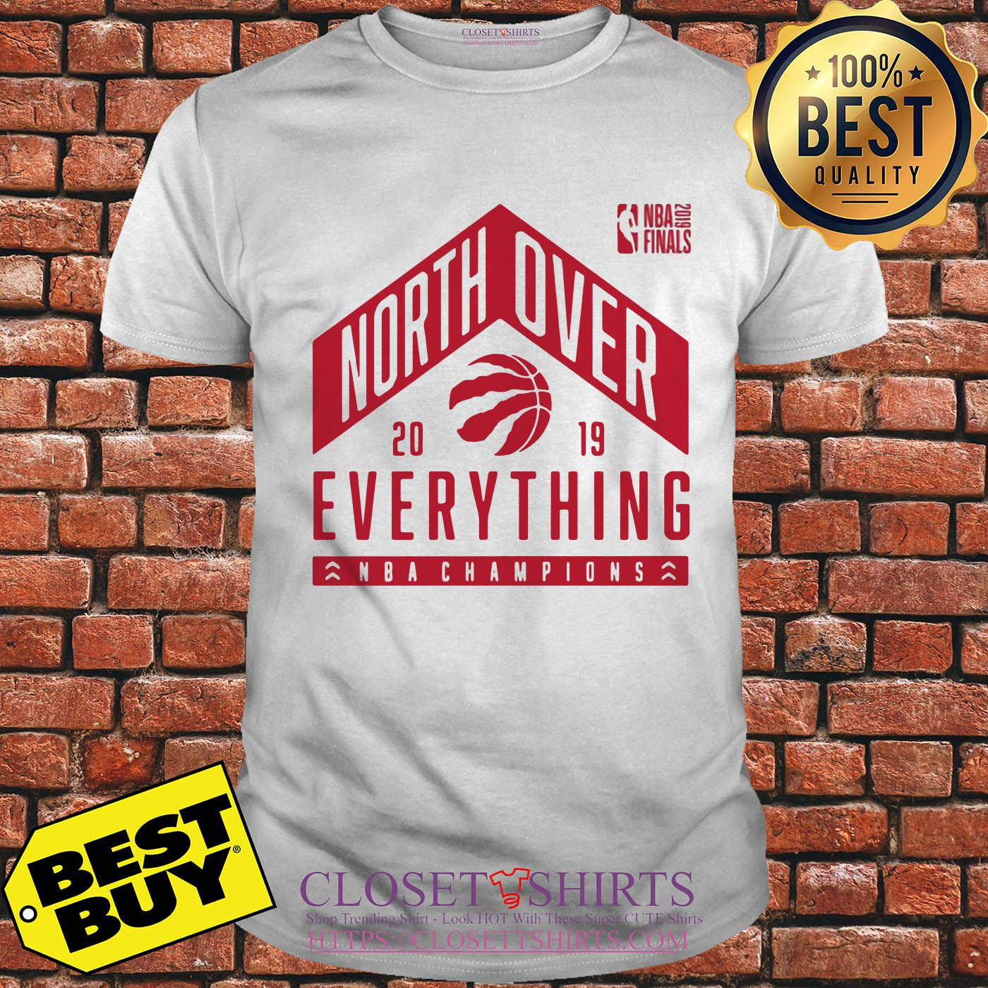 Tech Hometown Toronto Raptors North Over 2019 Nba Finals Champions ladies tee