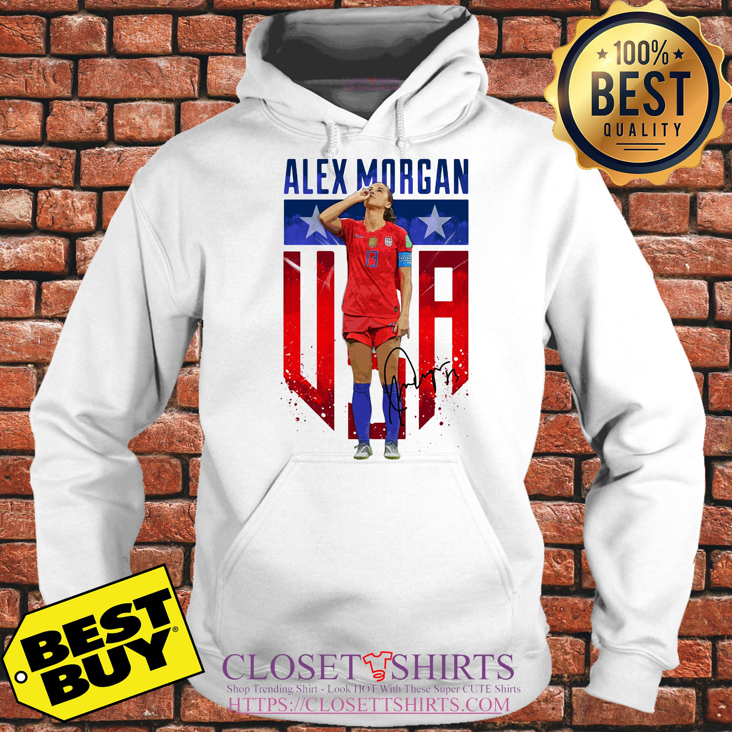 Alex Morgan Signature Usa Team Soccer hoodie