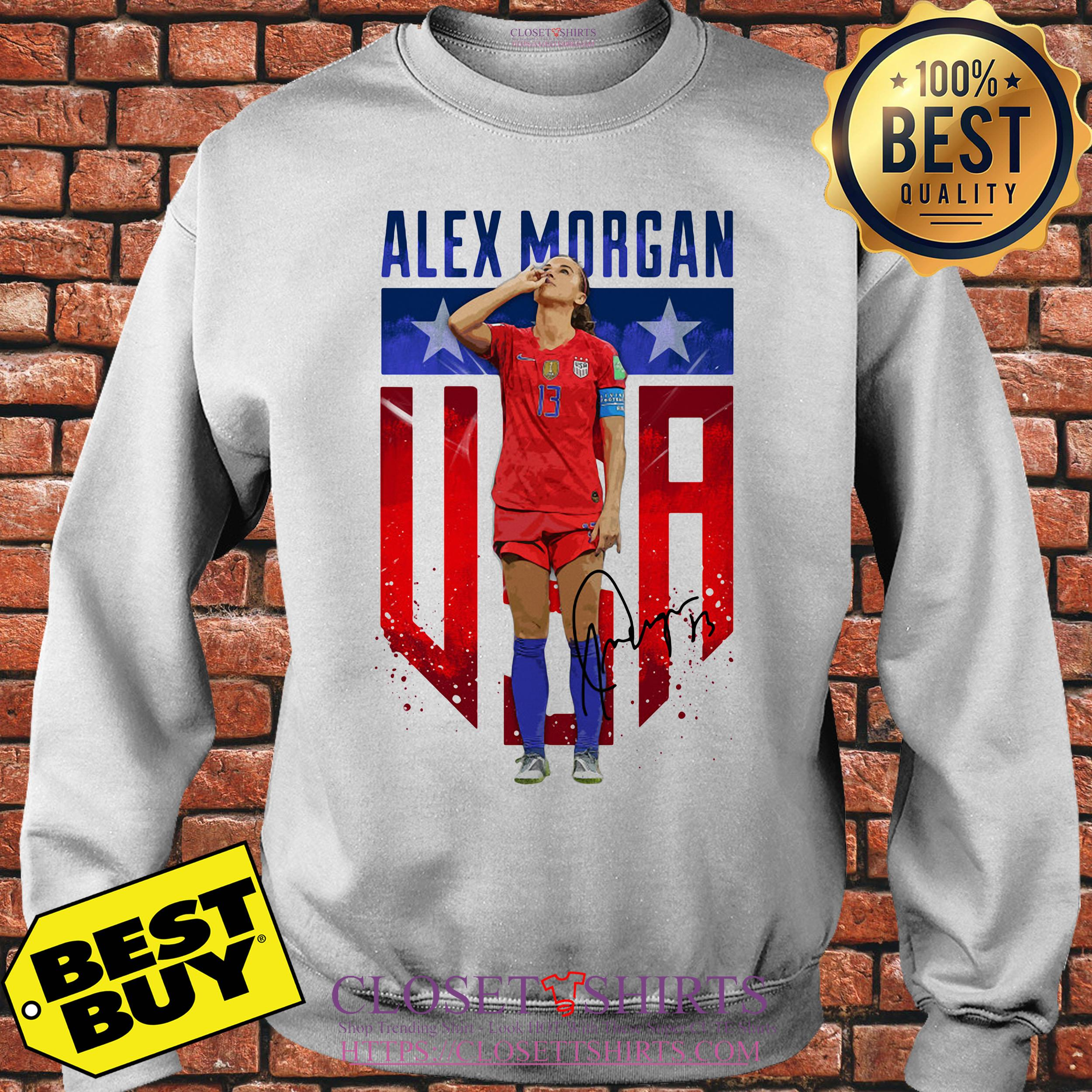 Alex Morgan Signature Usa Team Soccer sweatshirt
