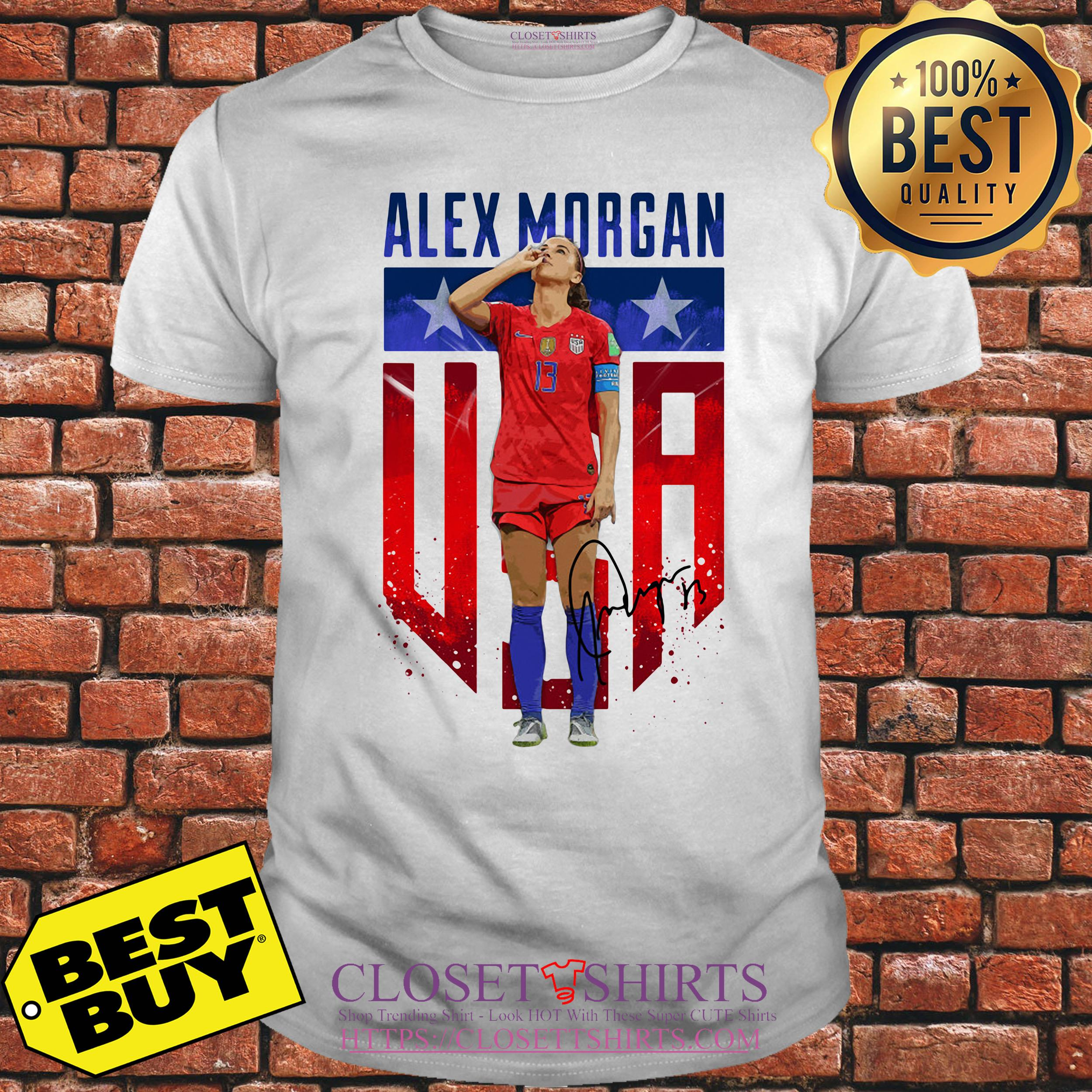 Alex Morgan Signature Usa Team Soccer v-neck