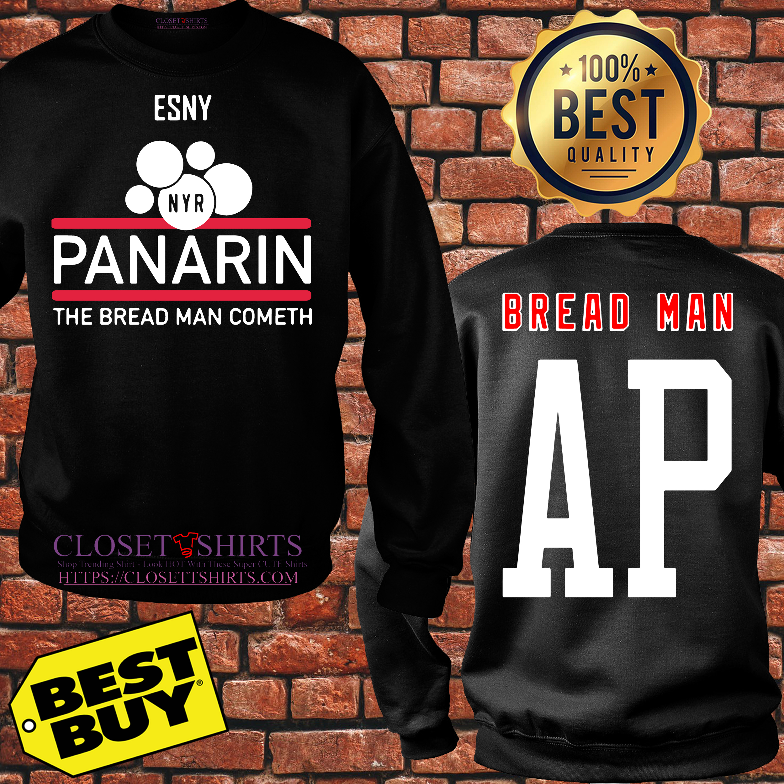 New York Rangers Artemi Panarin Sny Panarin The Bread Man Cometh sweatshirt