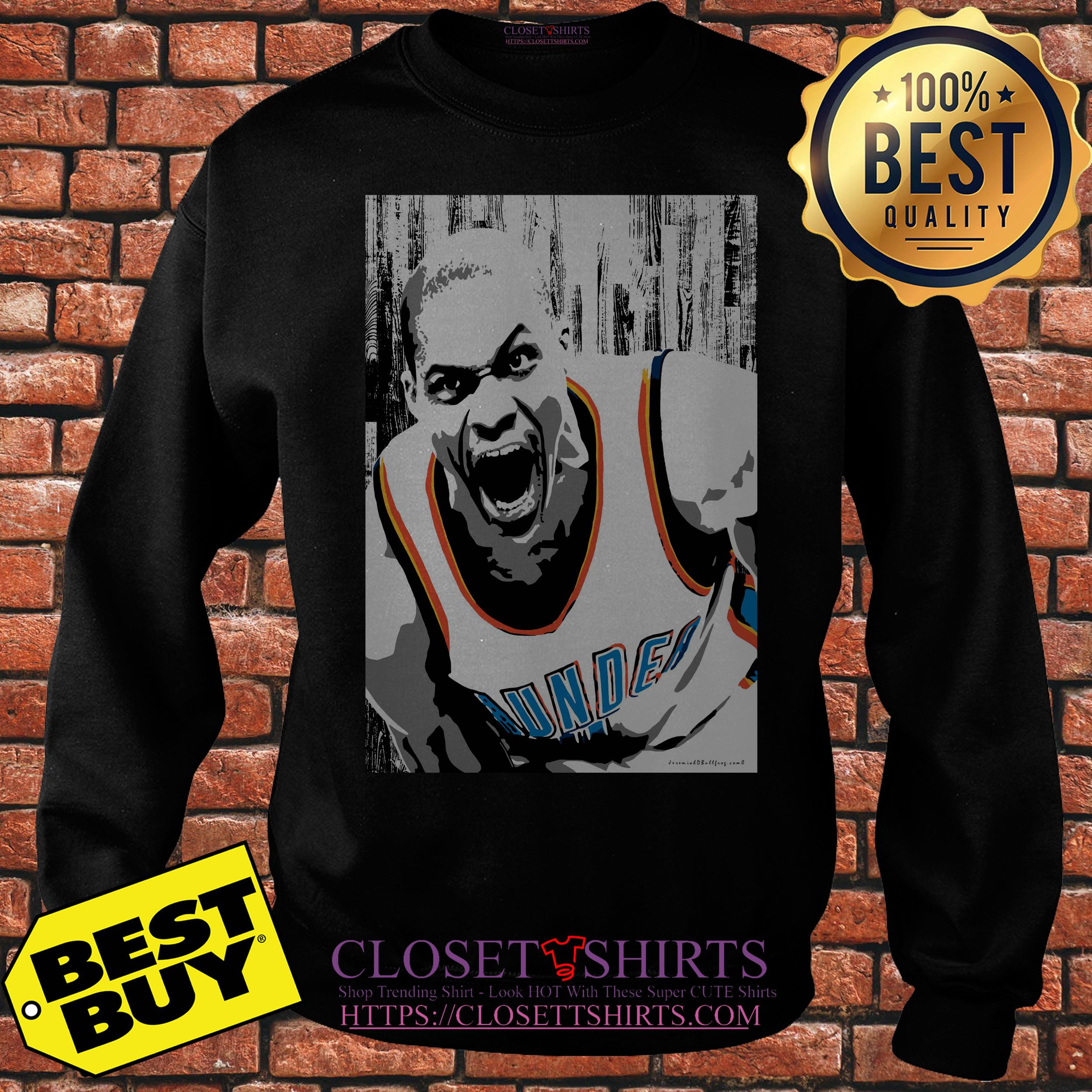 Oklahoma City Thunder Russell Westbrook Basketball sweatshirt