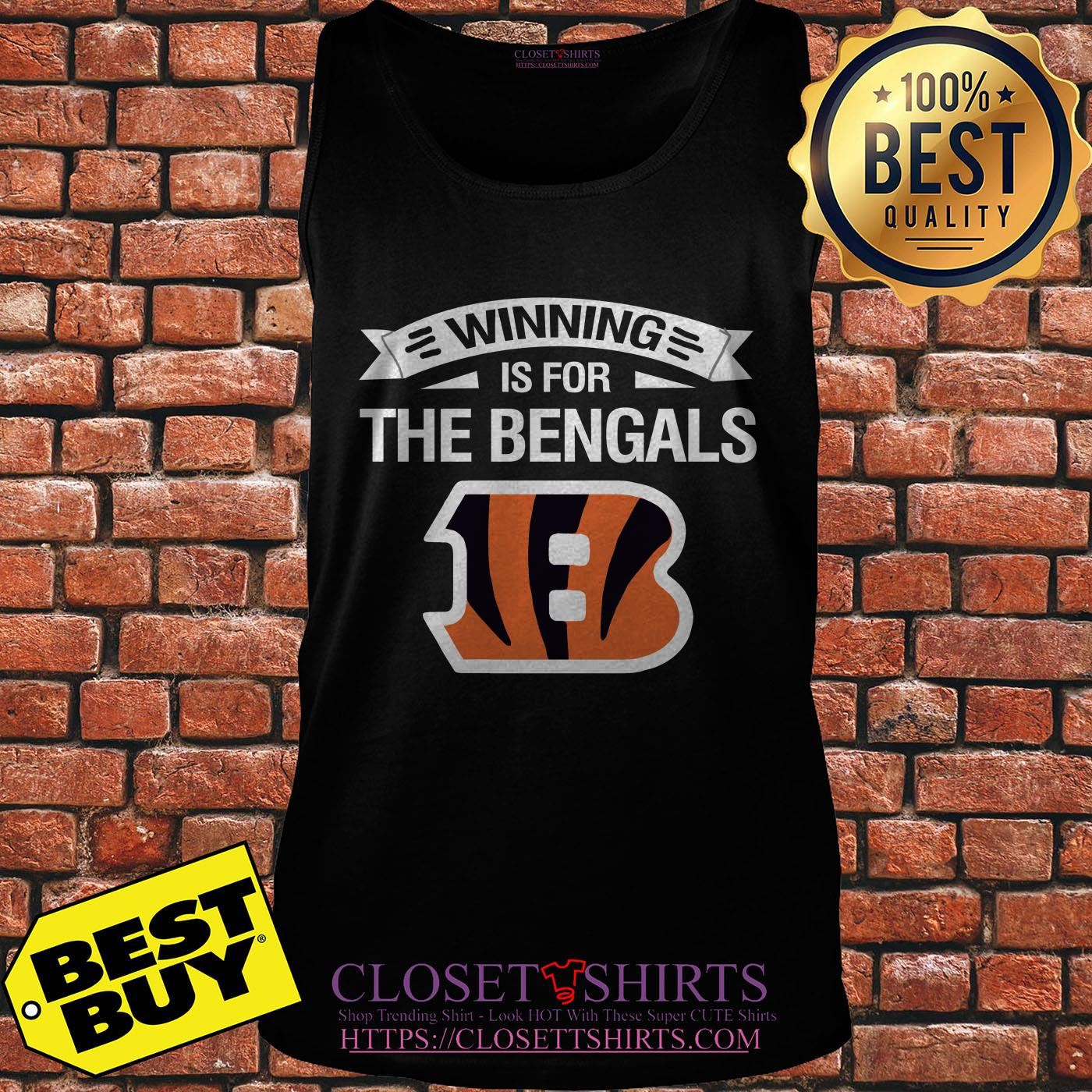 size 40 45bc1 fc61b Cincinnati Winning is for The Bengals shirt, ladies tee ...
