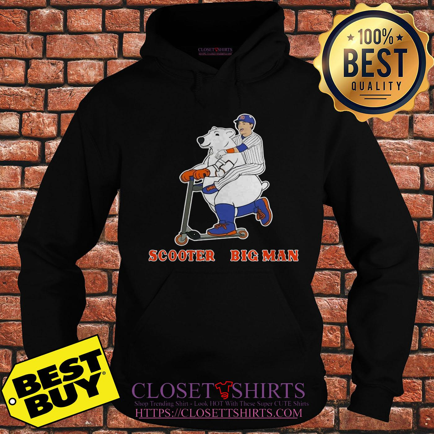 Scooter And The Big Man Michael Conforto And Pete Alonso New York Mets hoodie