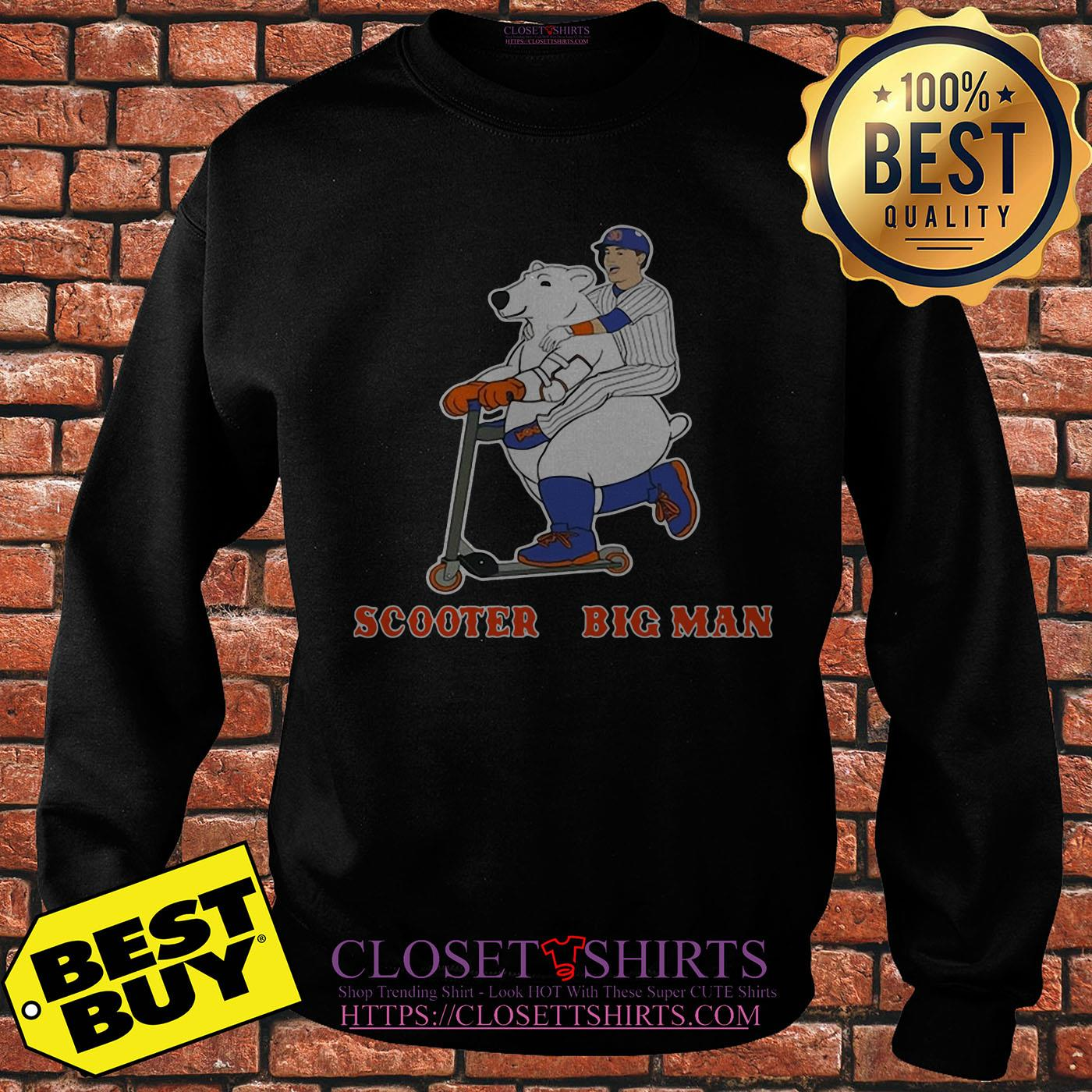 Scooter And The Big Man Michael Conforto And Pete Alonso New York Mets sweatshirt