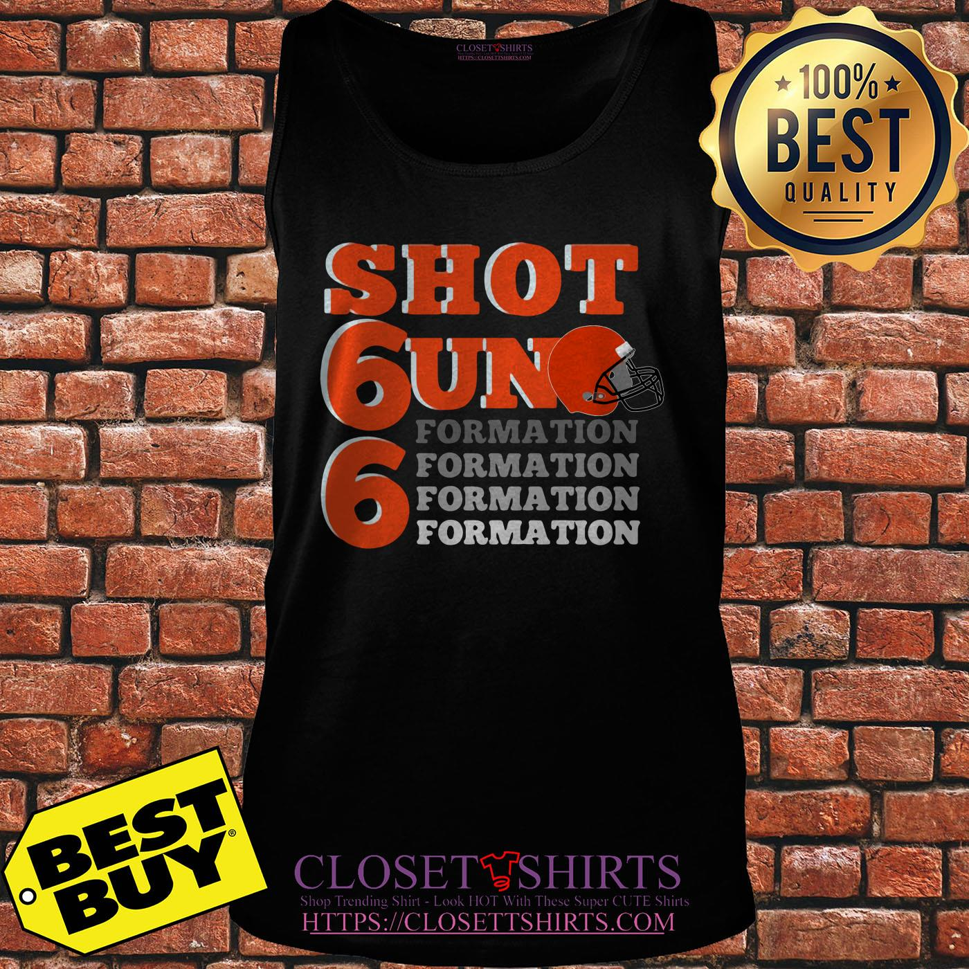 Shotgun Formation Cleveland Baseball tank top