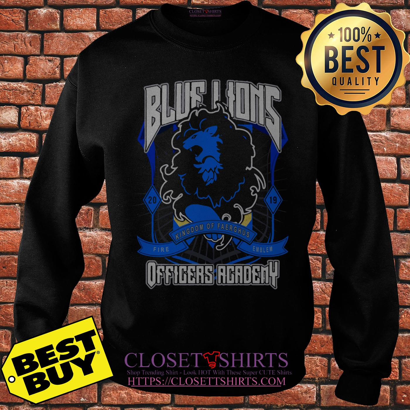 Blue Lions Offense Academy Football Playoffs sweatshirt