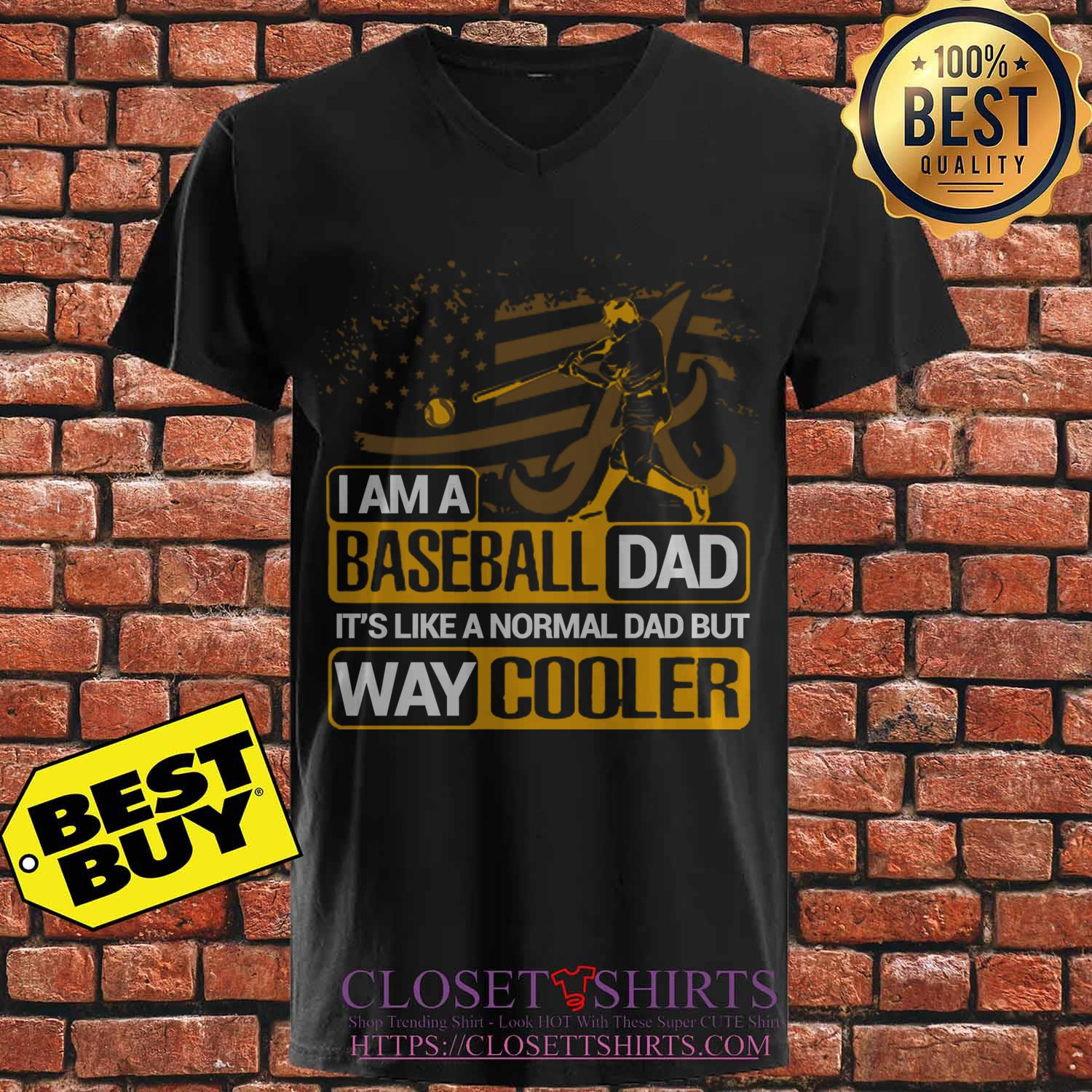 Alabama Crimson Tide I Am A Baseball Dad Way Cooler sweatshirt