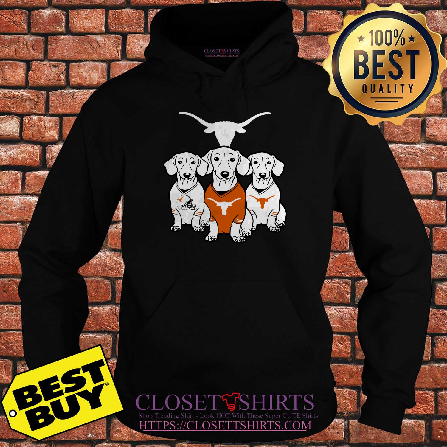 Official Dachshund Texas Longhorns hoodie