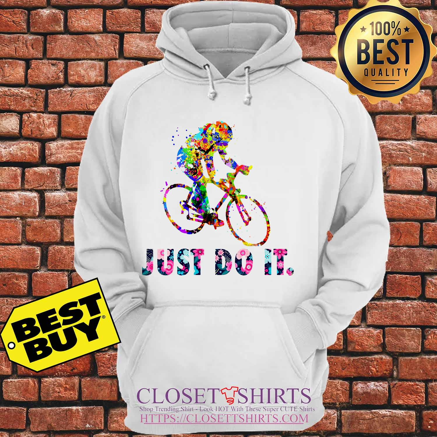 Lgbt Water Color Just Do Itflower hoodie