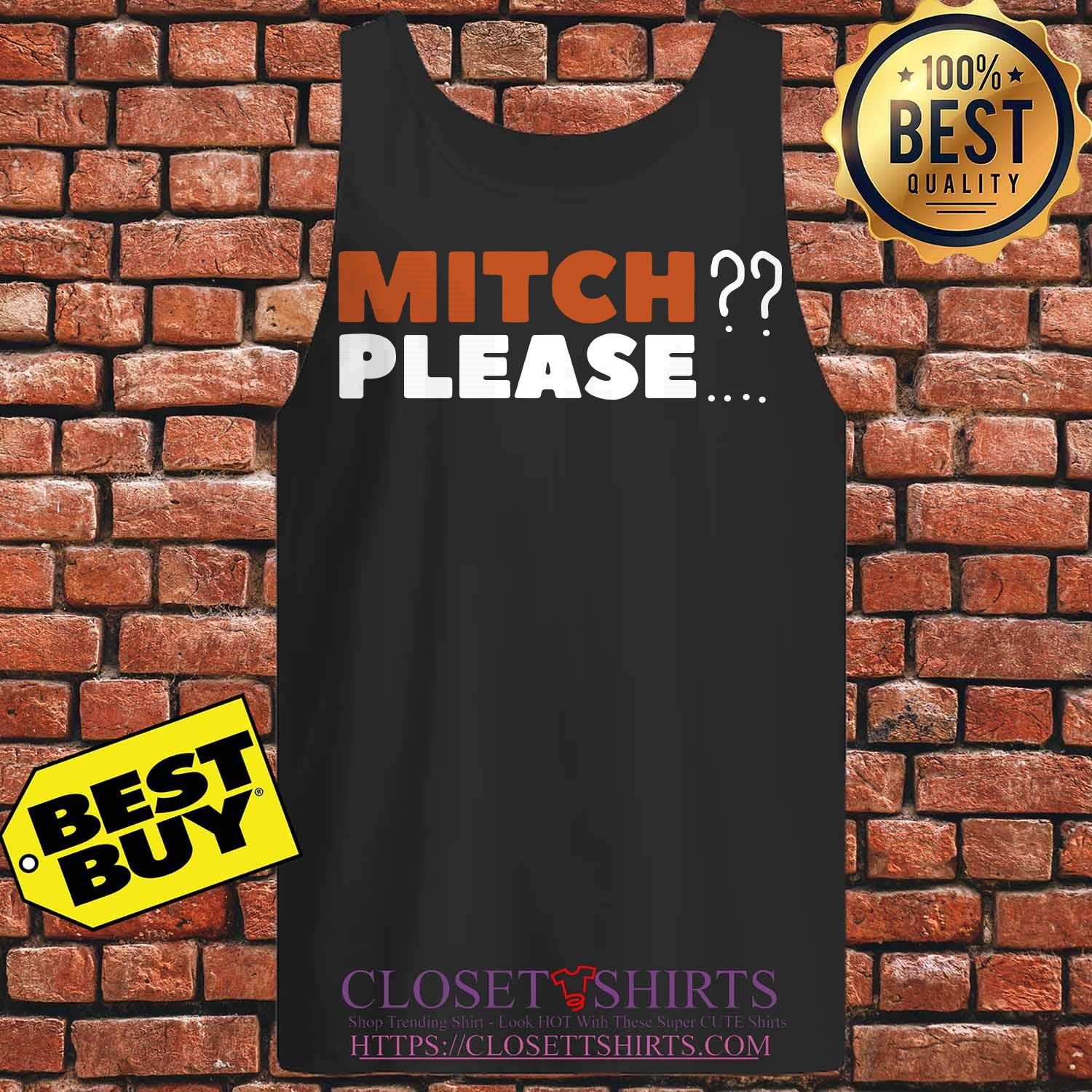 Mitch Please Chicago Bears tank top