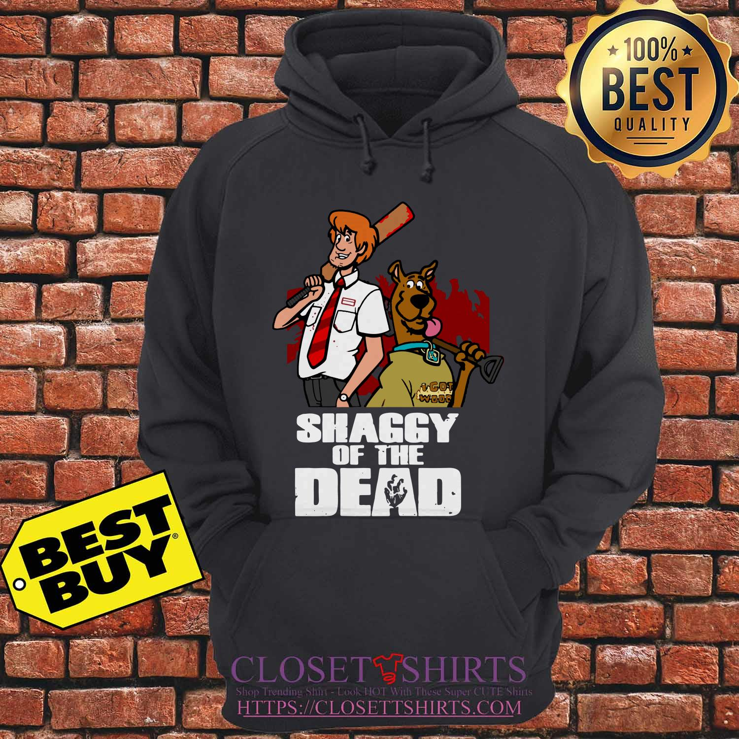 Scooby Doo And Shaggy Of The Dead Baseball hoodie