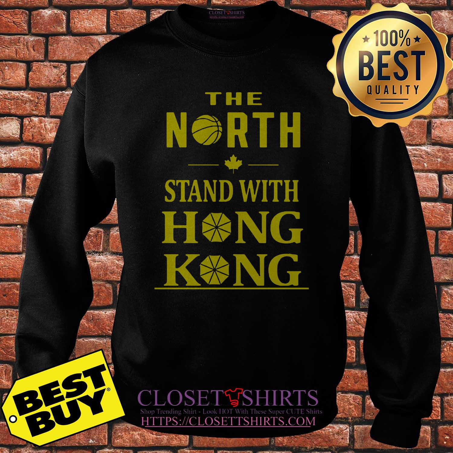 The North Stand With Hong Kong Sweatshirt