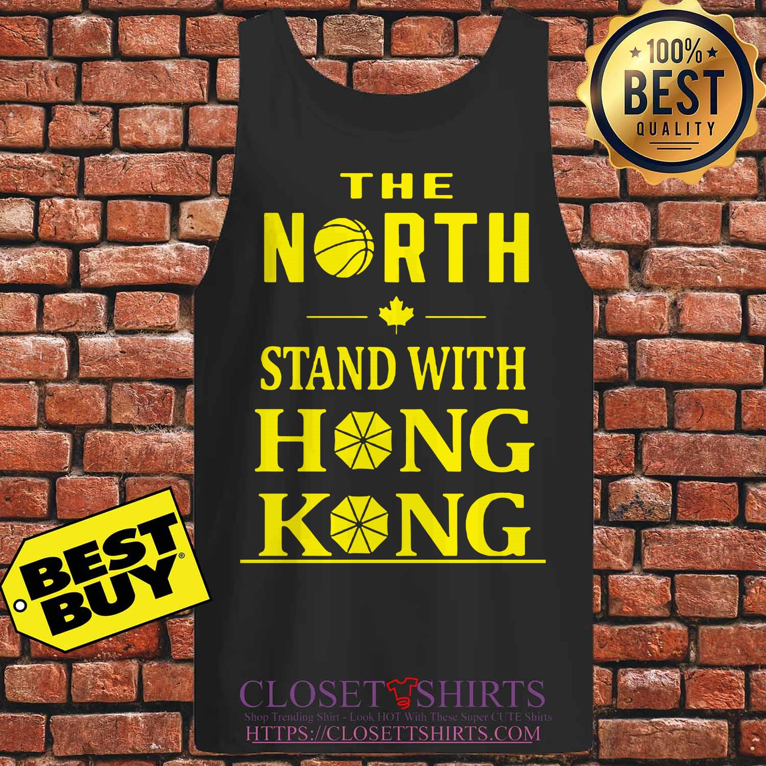 The North Stand With Hong Kong tank top