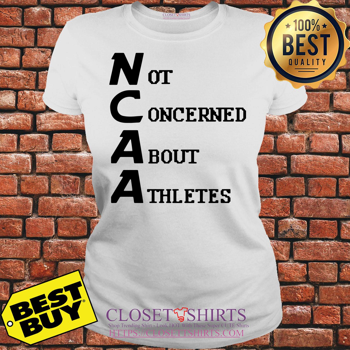Todd Gurley Not Concerned About Athletes Ladies Tee